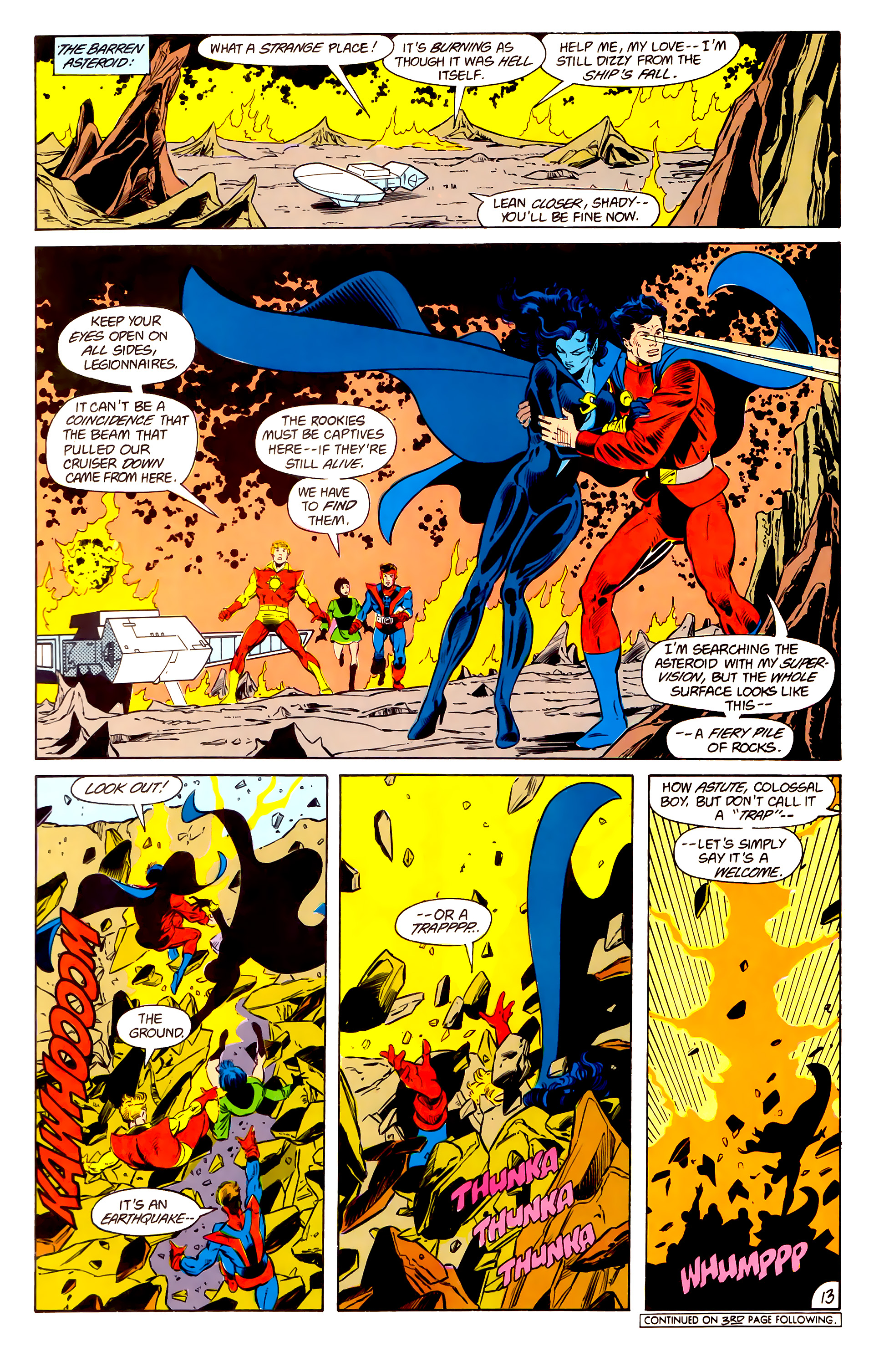Legion of Super-Heroes (1984) 15 Page 14