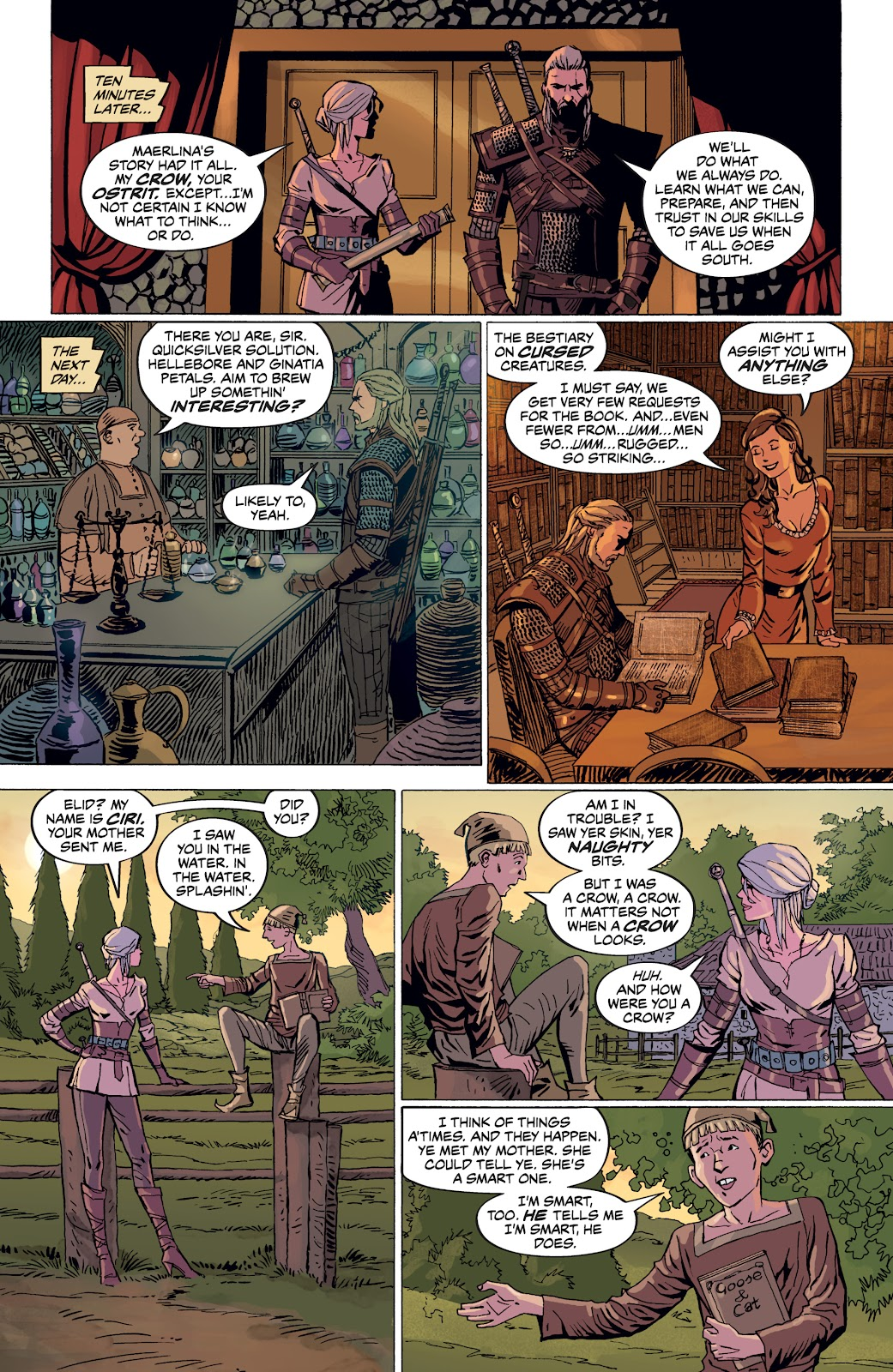 Read online The Witcher Omnibus comic -  Issue # TPB (Part 4) - 41