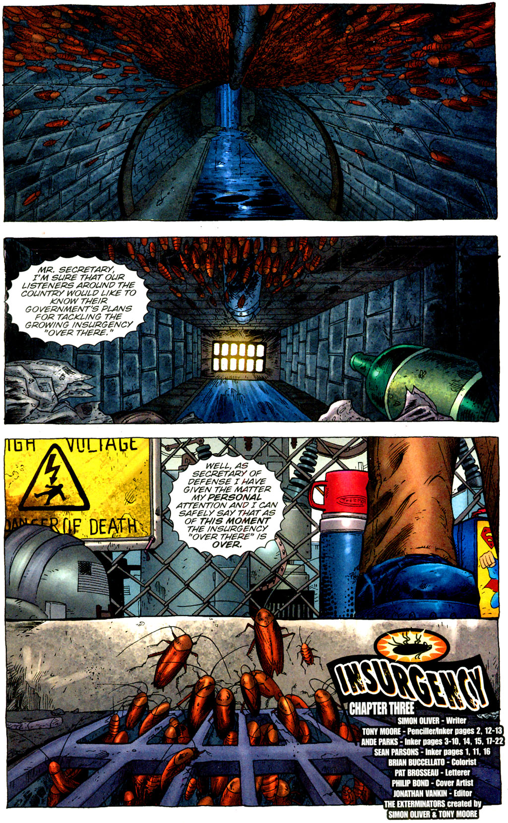Read online The Exterminators comic -  Issue #9 - 2