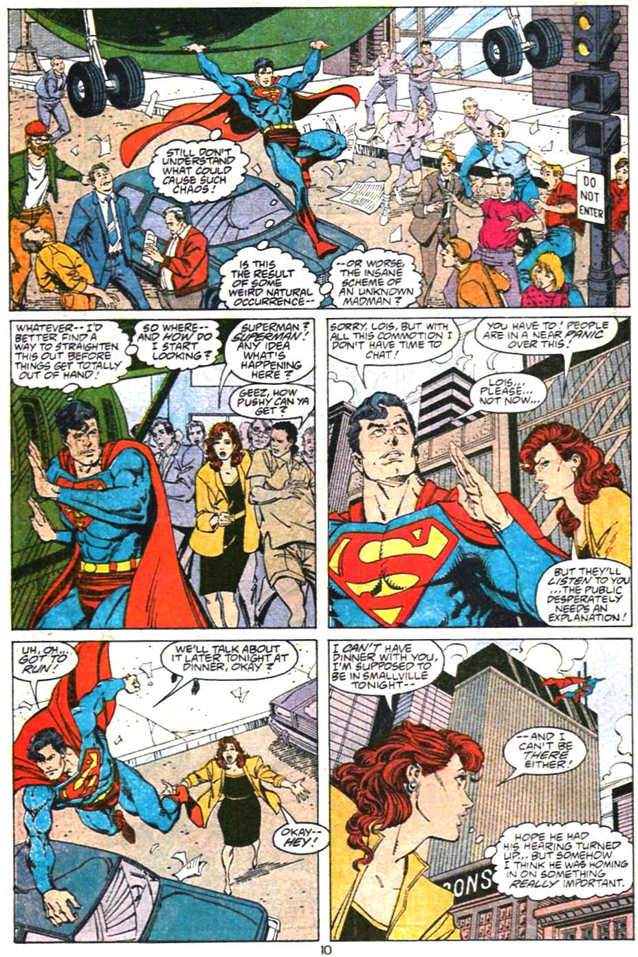 Read online Adventures of Superman (1987) comic -  Issue #468 - 11