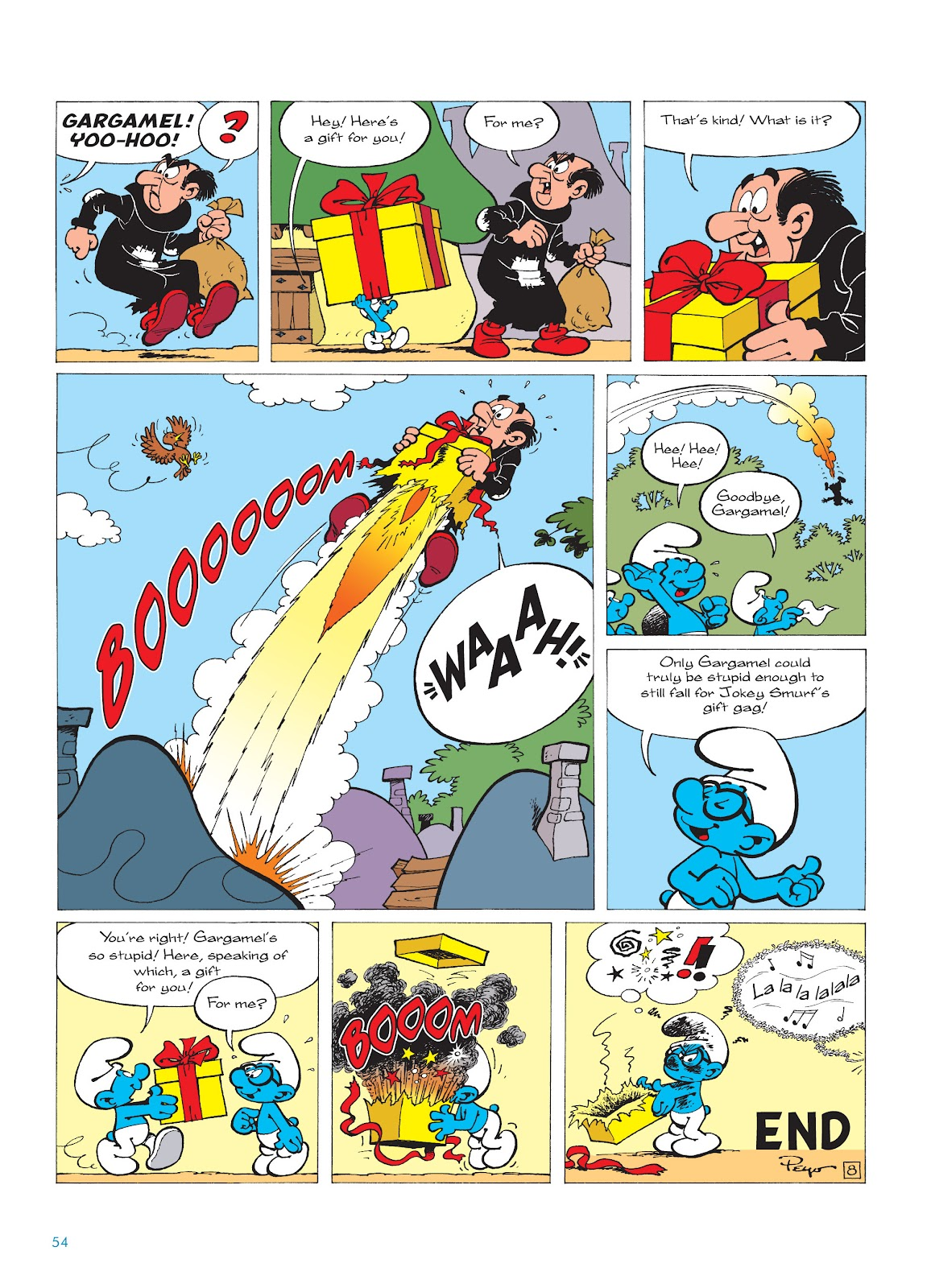 Read online The Smurfs comic -  Issue #16 - 55