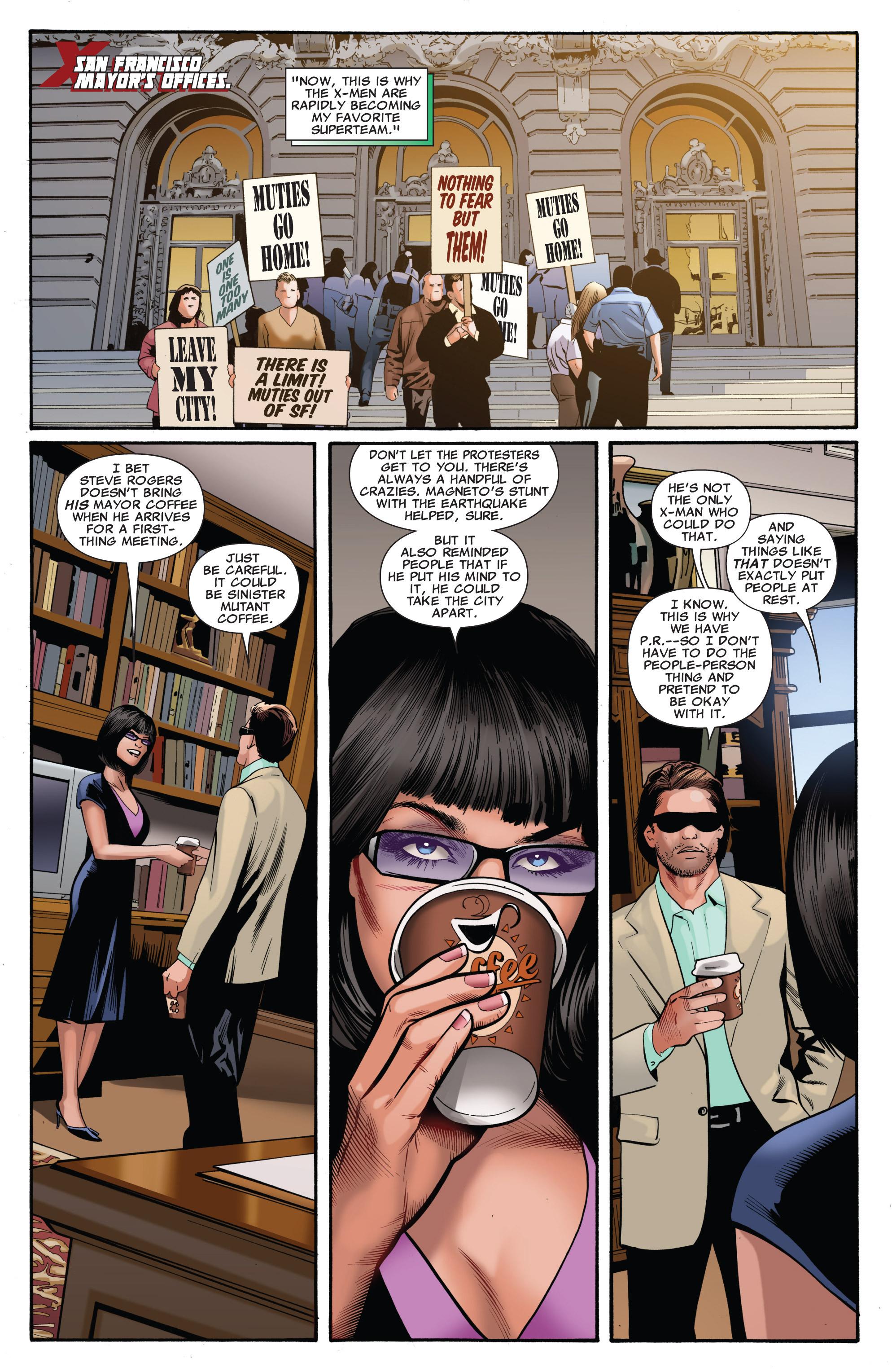 Read online Uncanny X-Men (1963) comic -  Issue #540 - 10