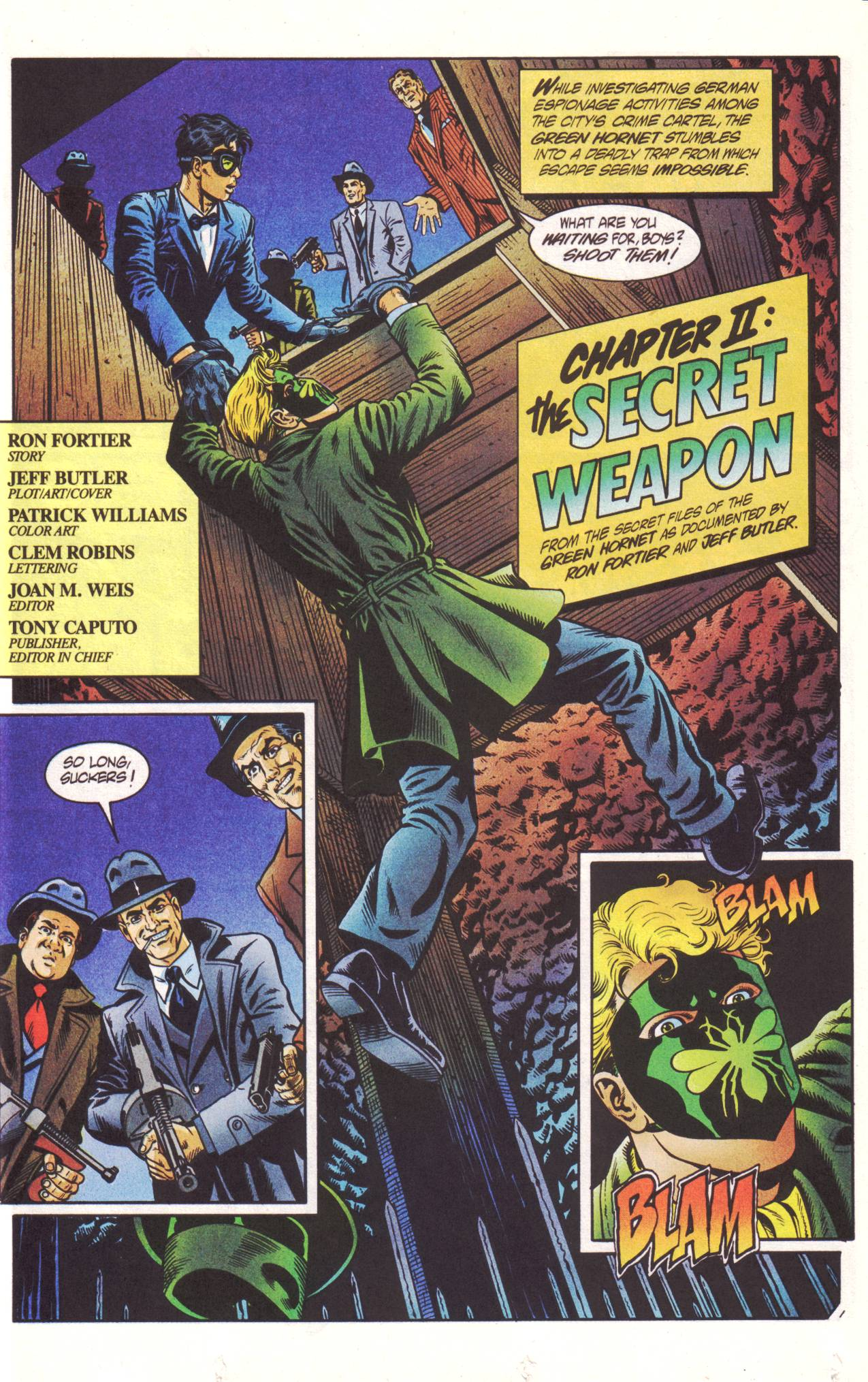 Read online Sting of The Green Hornet comic -  Issue #2 - 2