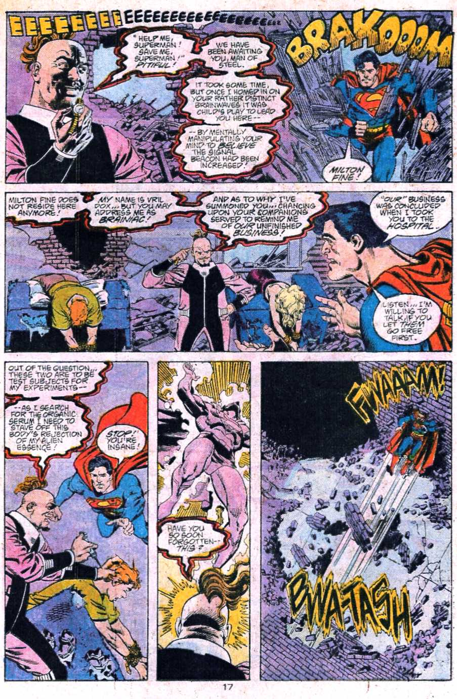 Read online Adventures of Superman (1987) comic -  Issue #445 - 18