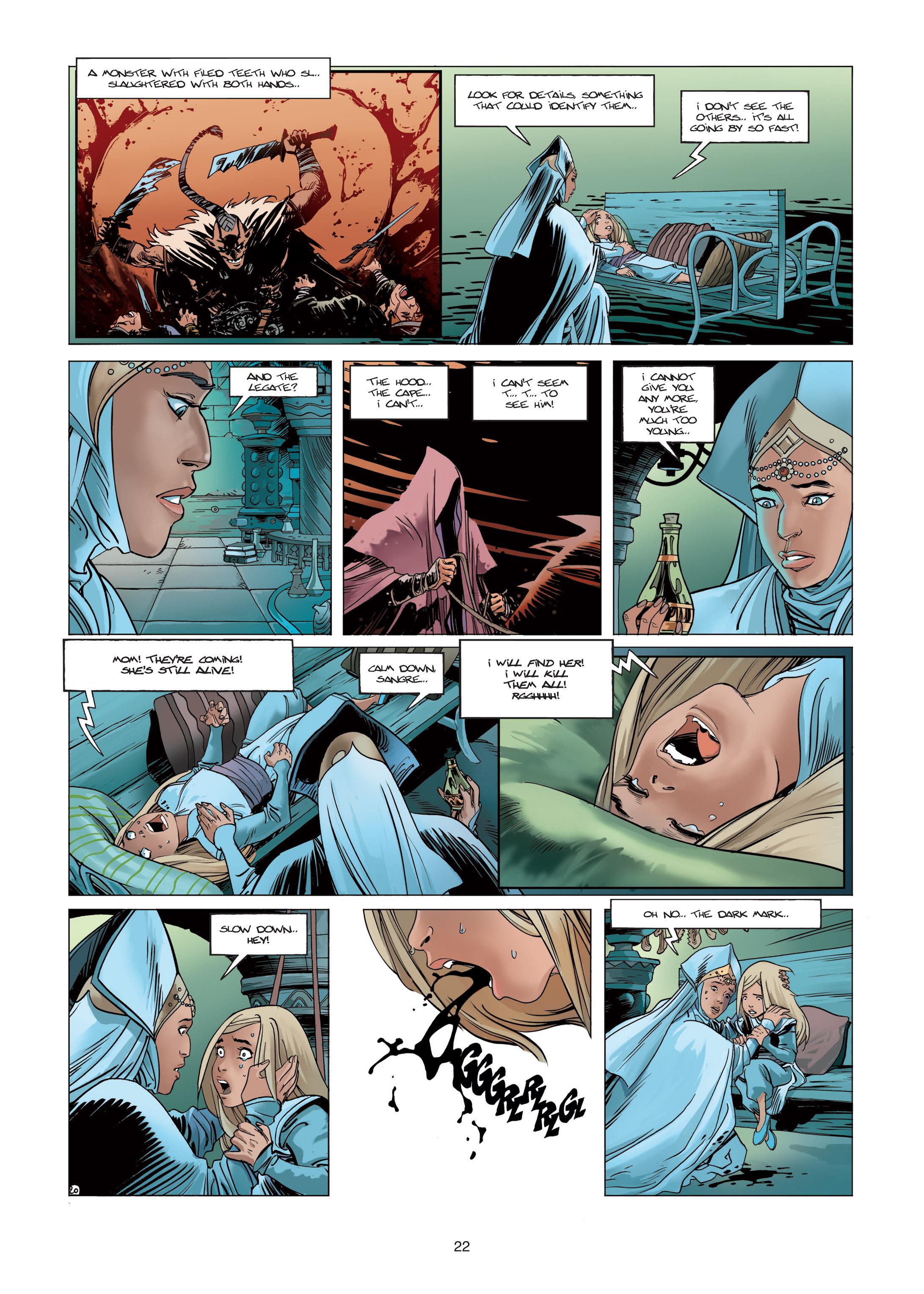 Read online Sangre Vol. 1: Sangre the Survivor comic -  Issue # Full - 22