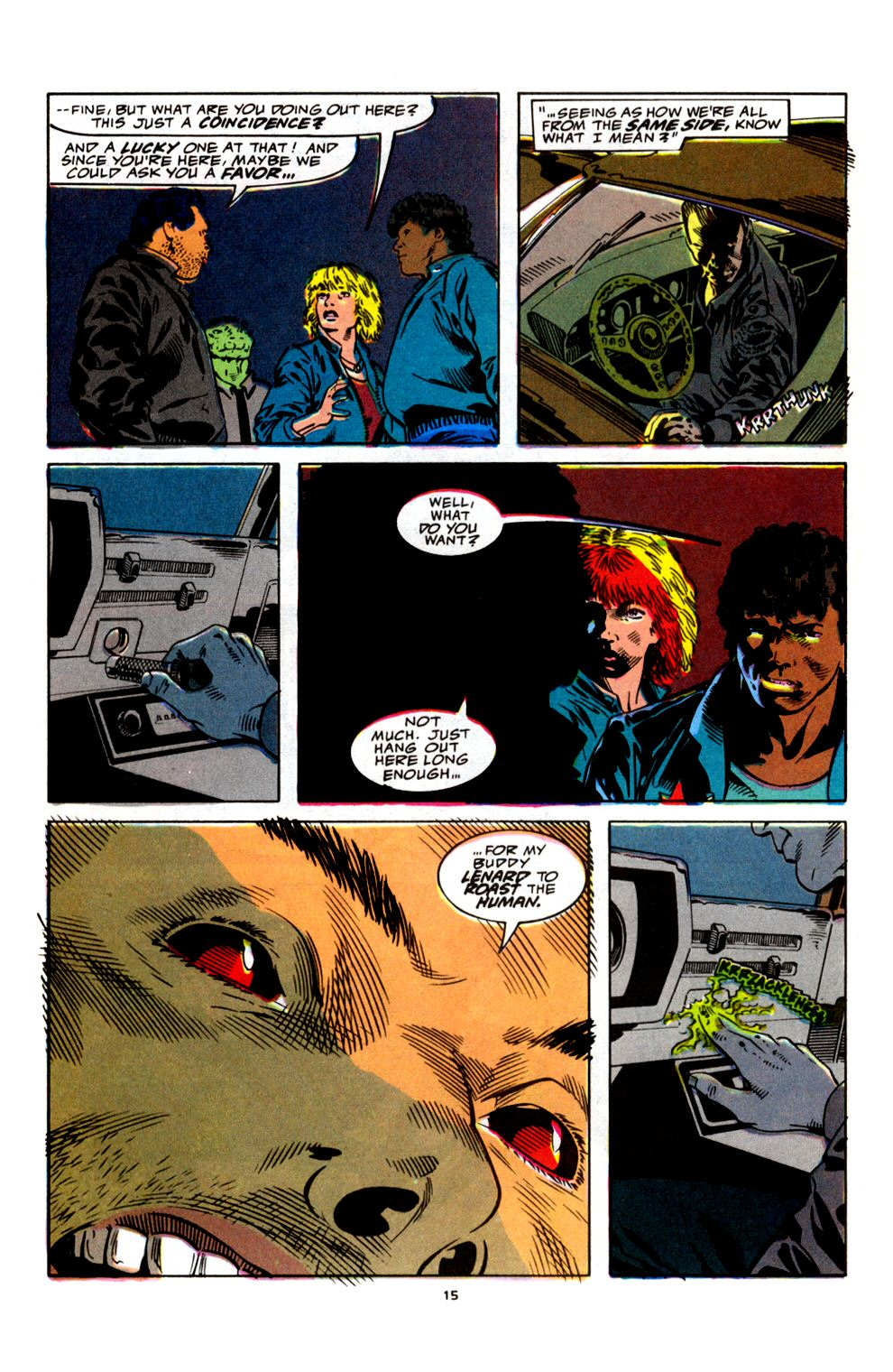 Read online Powerline comic -  Issue #4 - 17