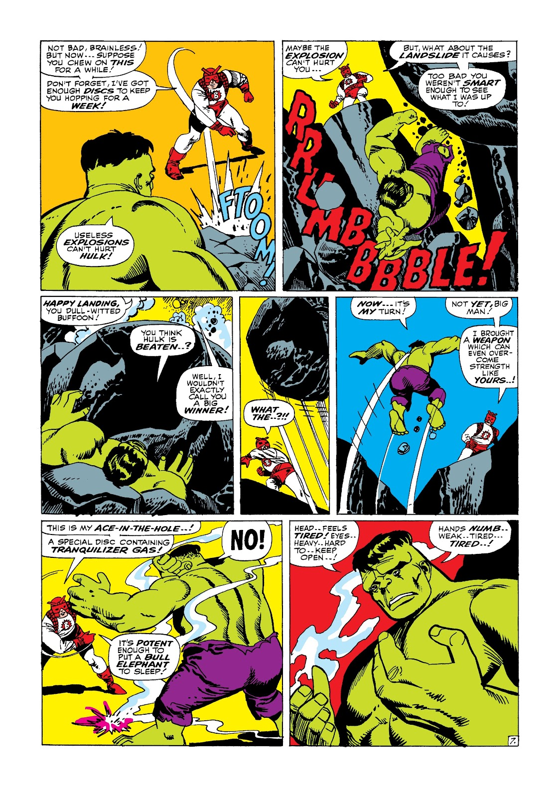 Read online Marvel Masterworks: The Incredible Hulk comic -  Issue # TPB 3 (Part 2) - 2