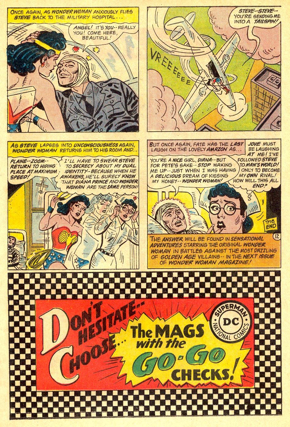 Read online Wonder Woman (1942) comic -  Issue #162 - 17