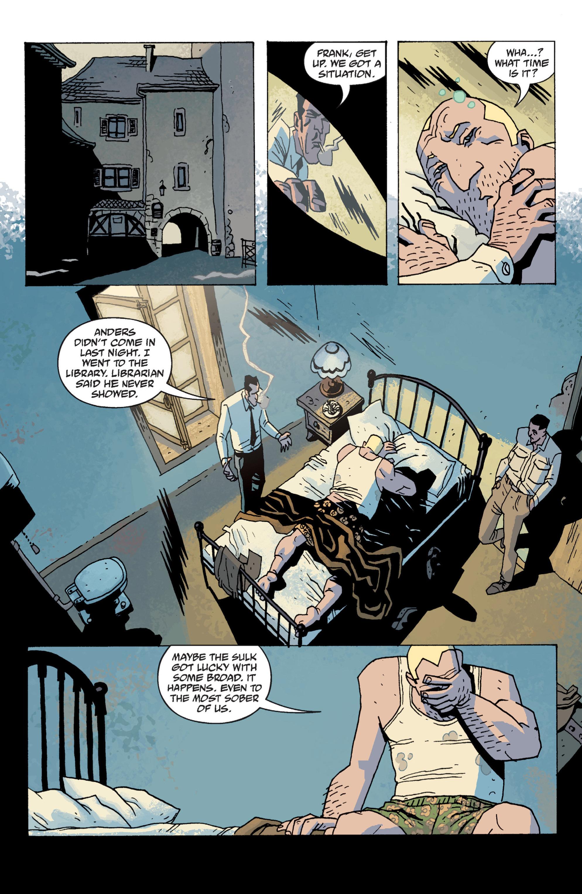 Read online B.P.R.D. (2003) comic -  Issue # TPB 13 - 46