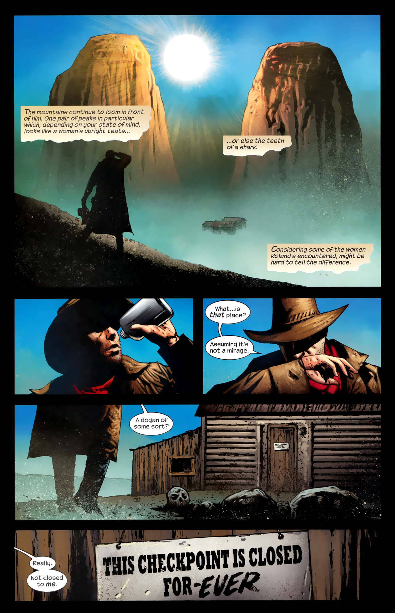 Read online Dark Tower: The Gunslinger - The Way Station comic -  Issue #1 - 9
