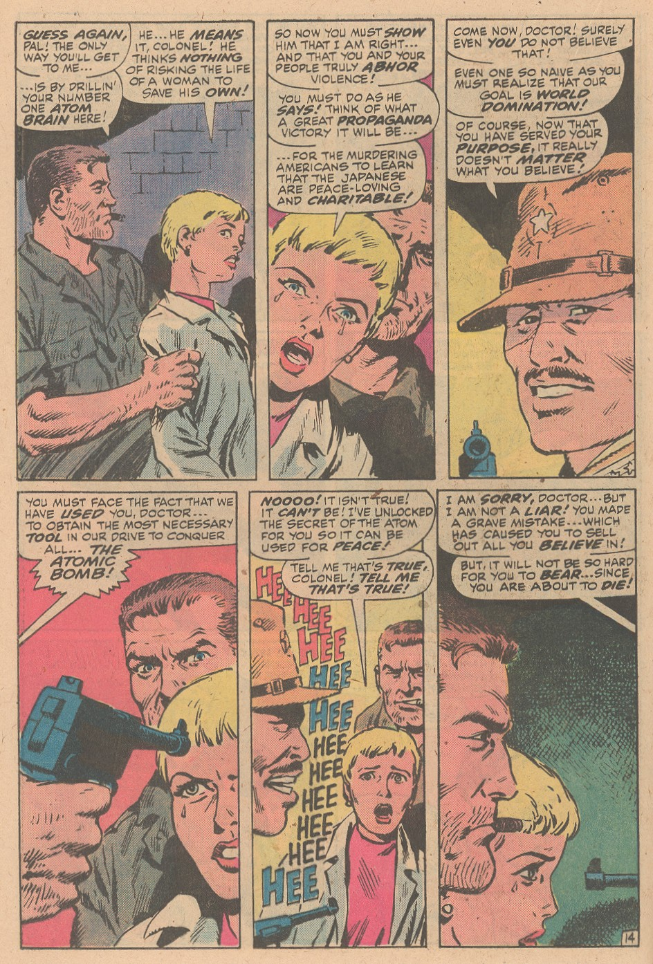 Read online Sgt. Fury comic -  Issue #161 - 20
