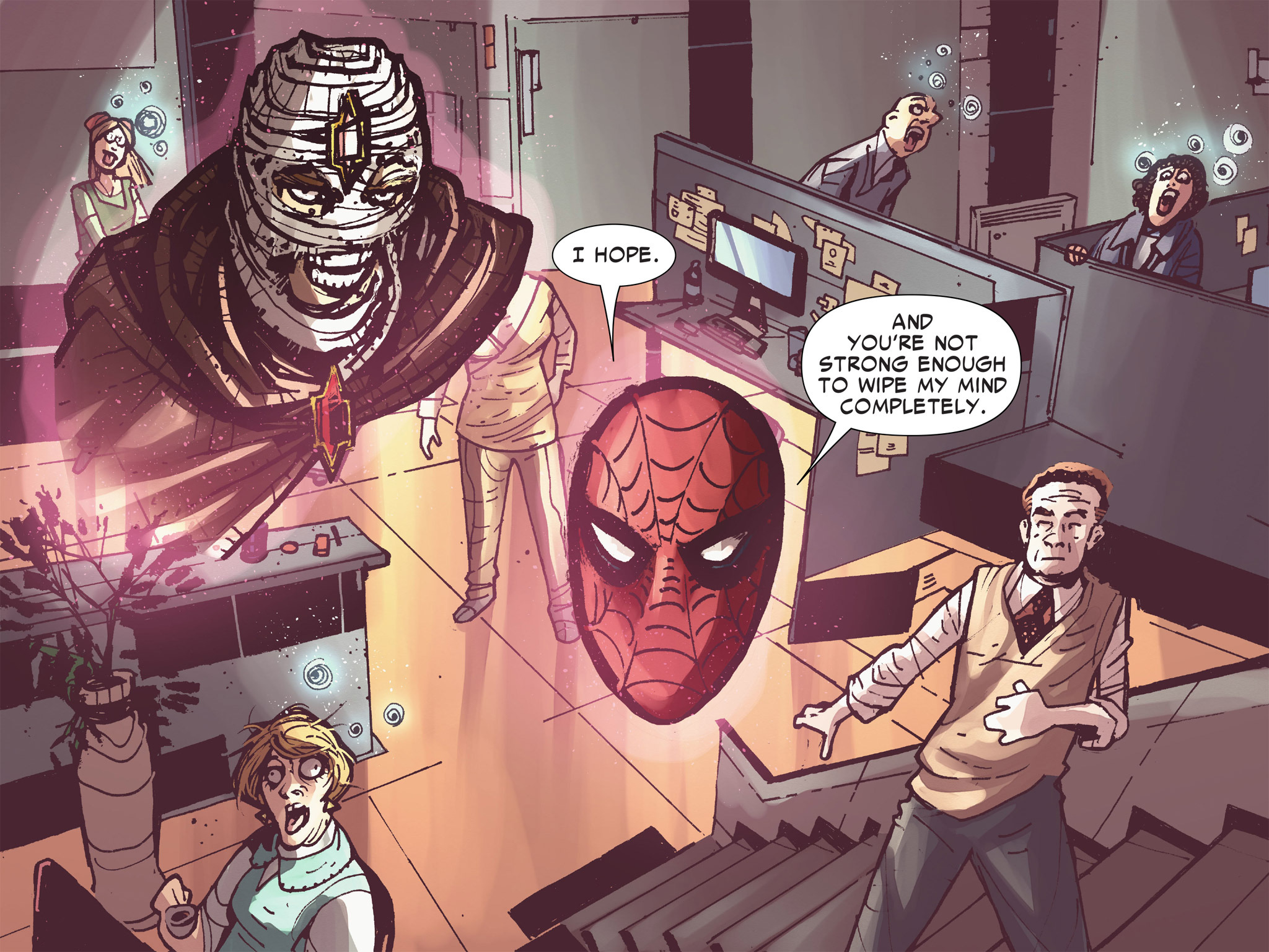 Read online Amazing Spider-Man: Who Am I? comic -  Issue # Full (Part 3) - 176