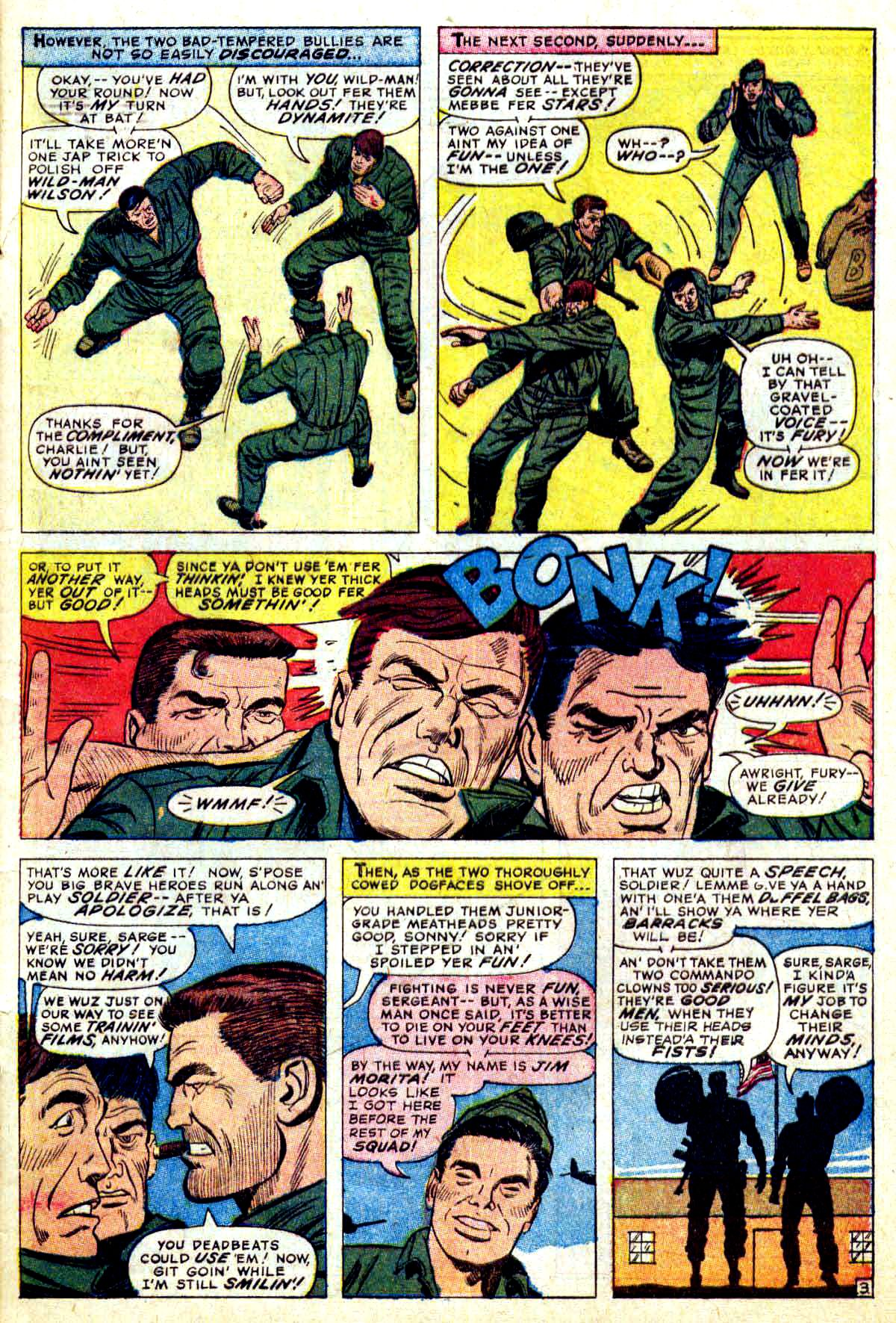 Read online Sgt. Fury comic -  Issue #38 - 5