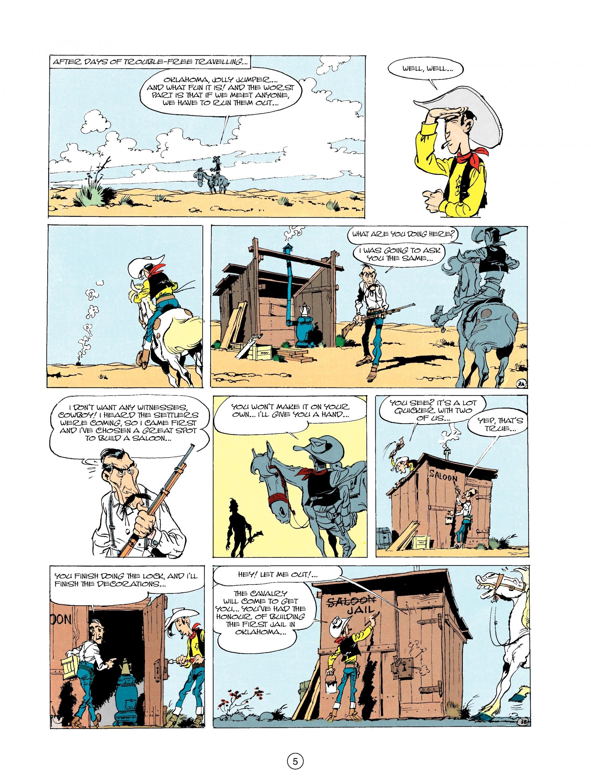 Read online A Lucky Luke Adventure comic -  Issue #20 - 5