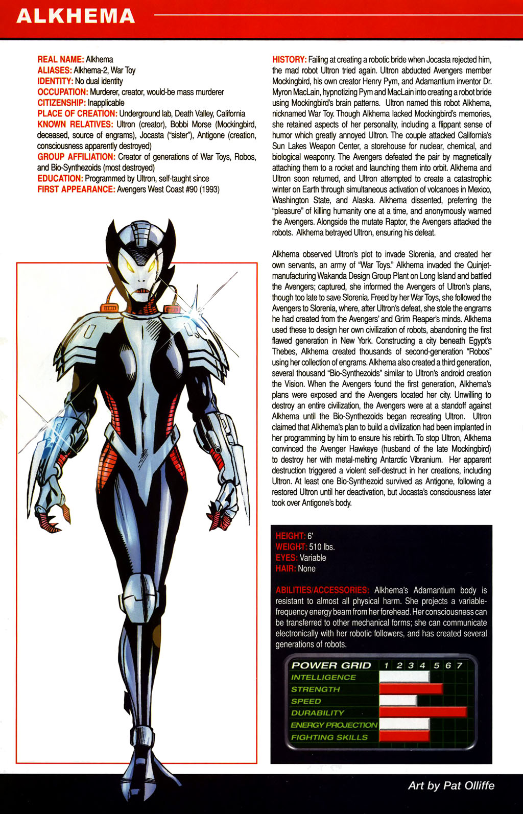 Read online All-New Official Handbook of the Marvel Universe A to Z comic -  Issue #1 - 18