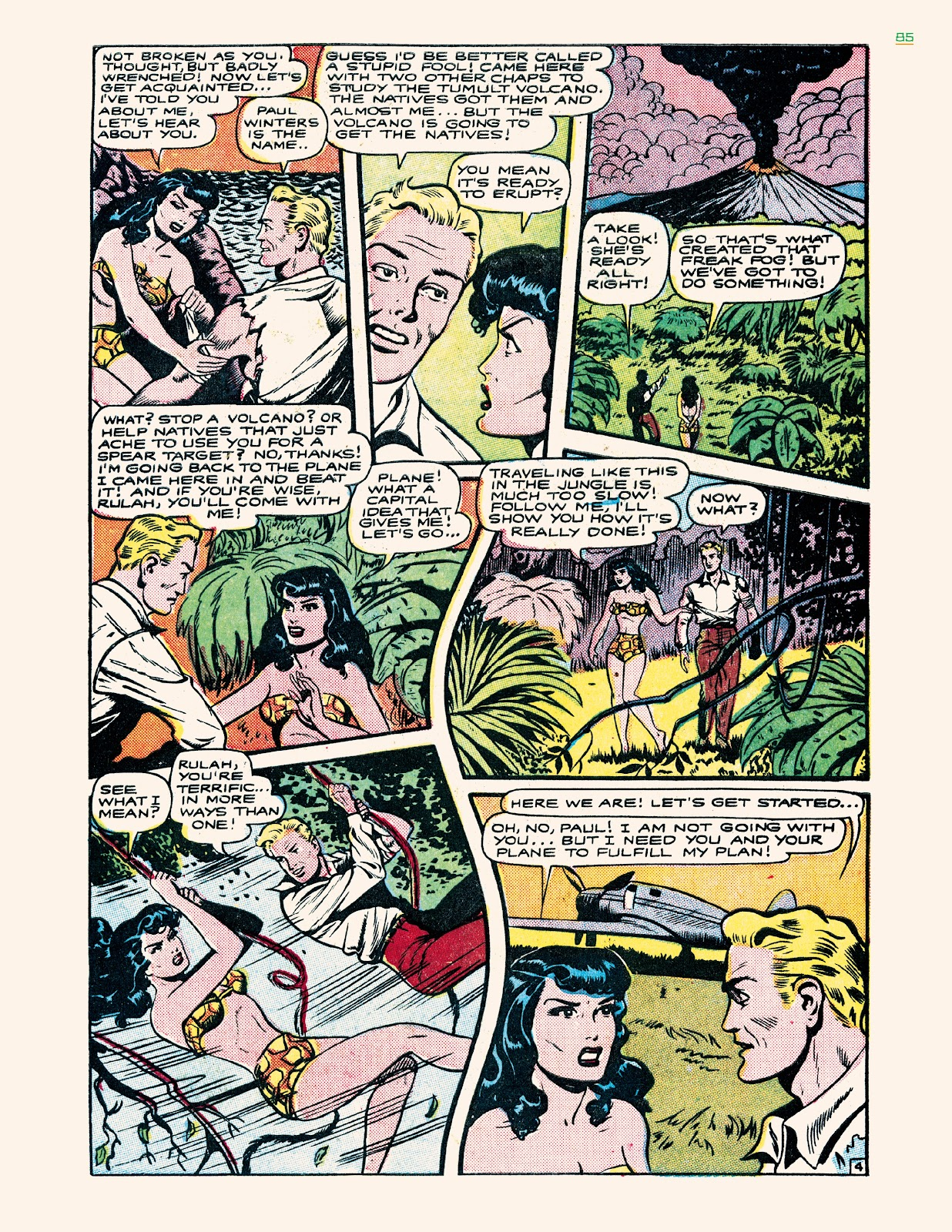 Read online Jungle Girls comic -  Issue # TPB (Part 1) - 85