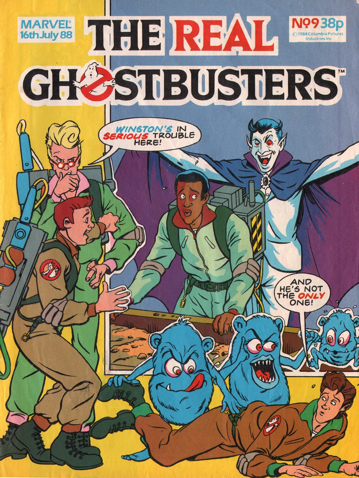 The Real Ghostbusters 9 Page 1