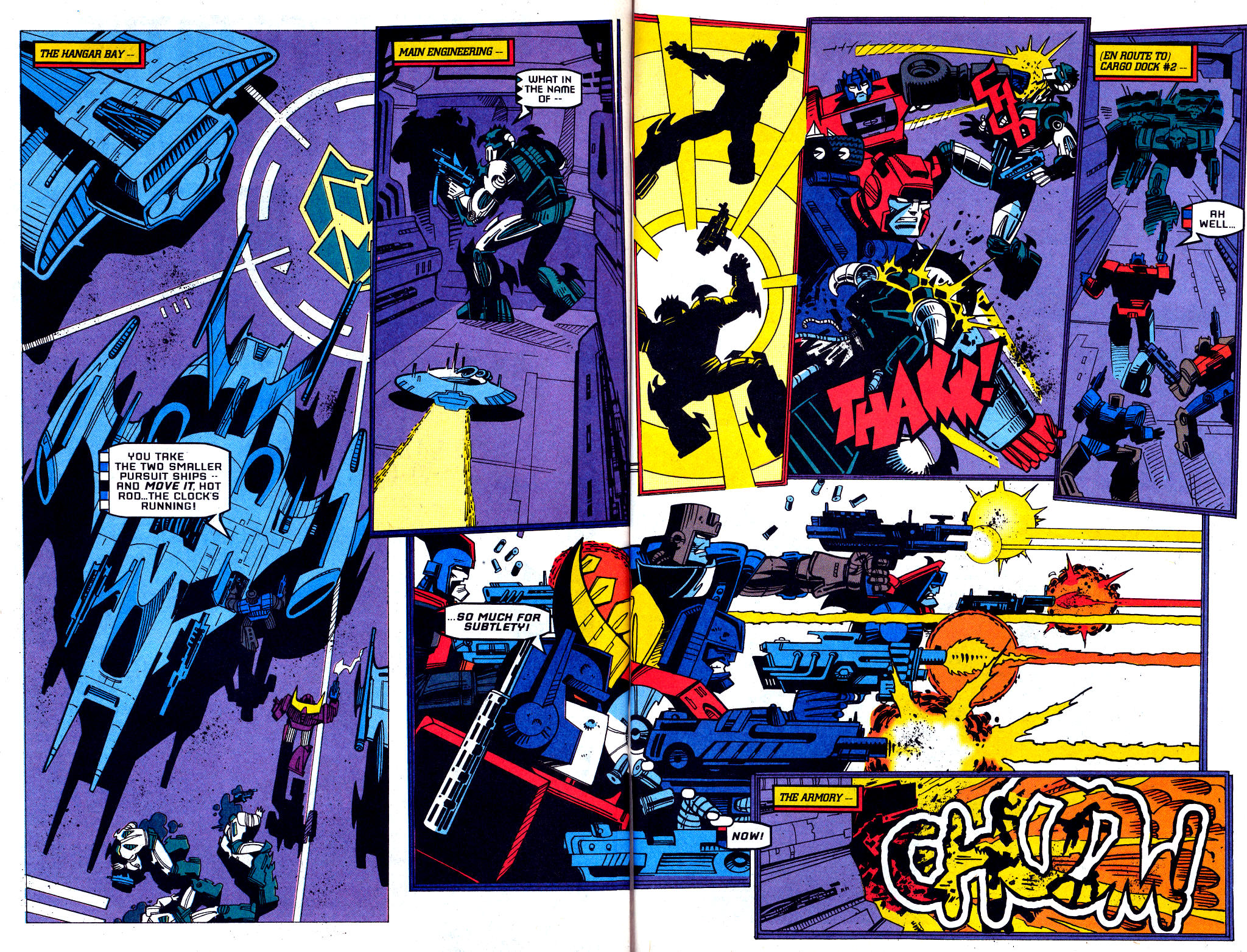Read online Transformers: Generation 2 comic -  Issue #1 - 33