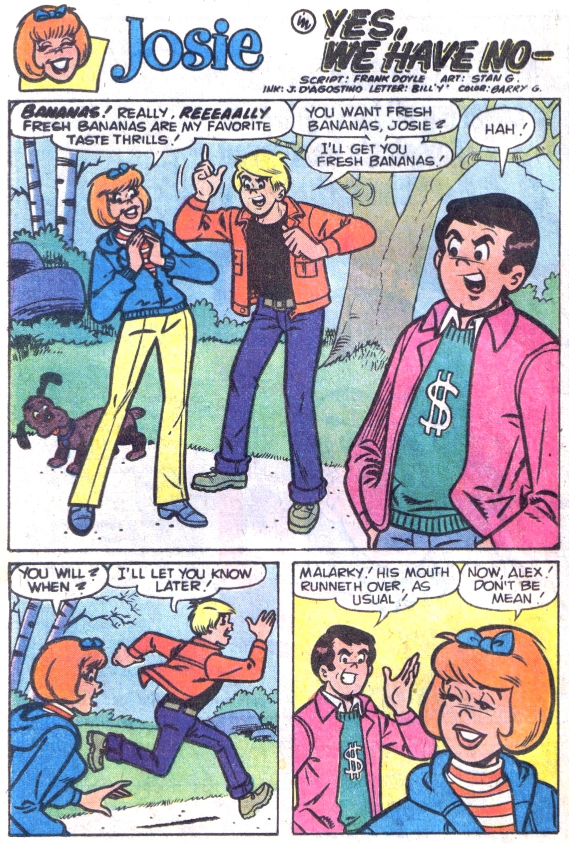Read online She's Josie comic -  Issue #103 - 20