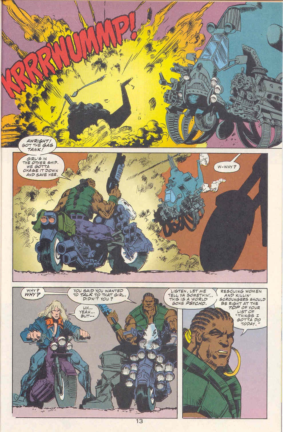 Read online Kamandi: At Earth's End comic -  Issue #2 - 14