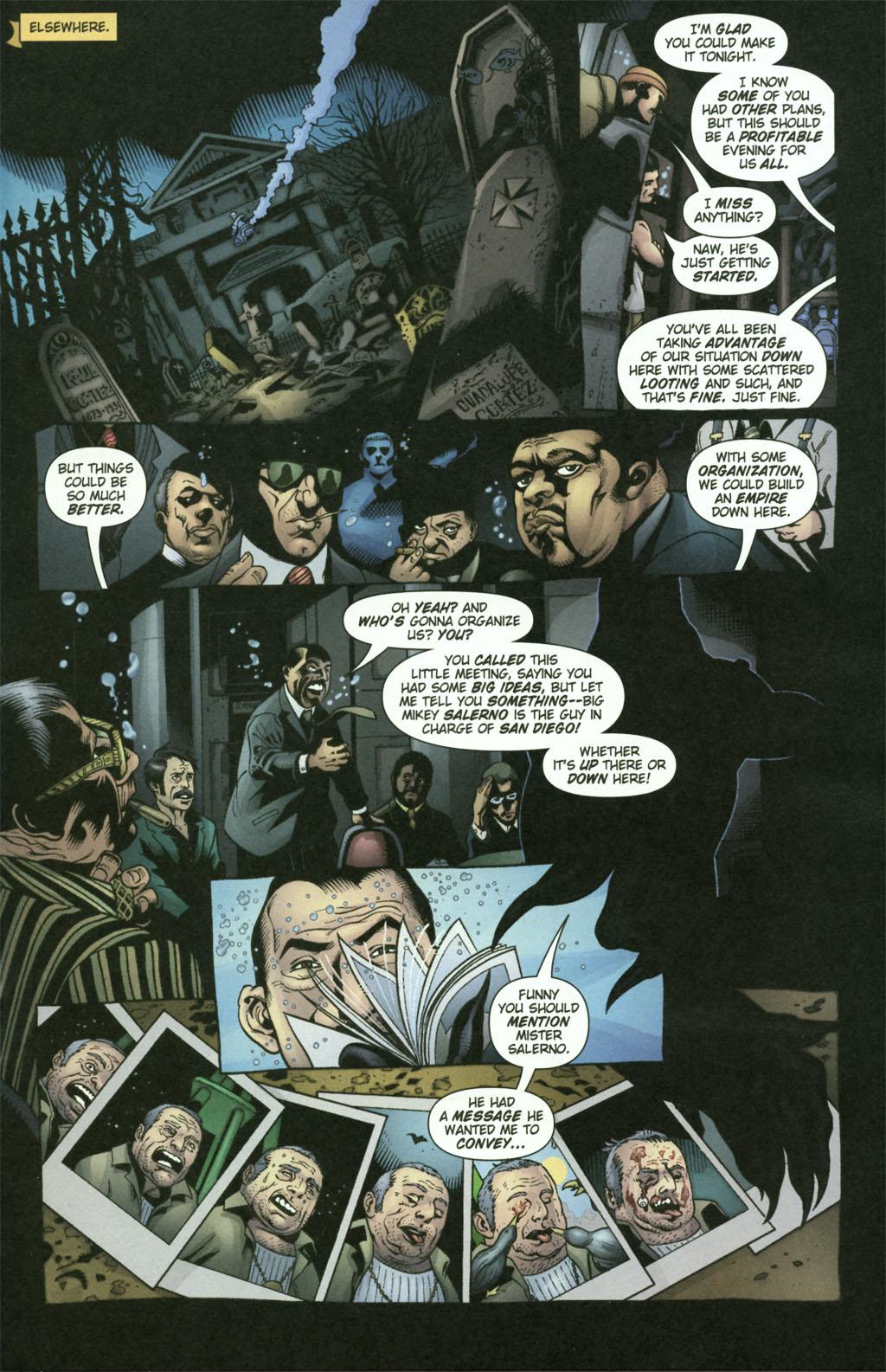 Read online Aquaman (2003) comic -  Issue #21 - 18