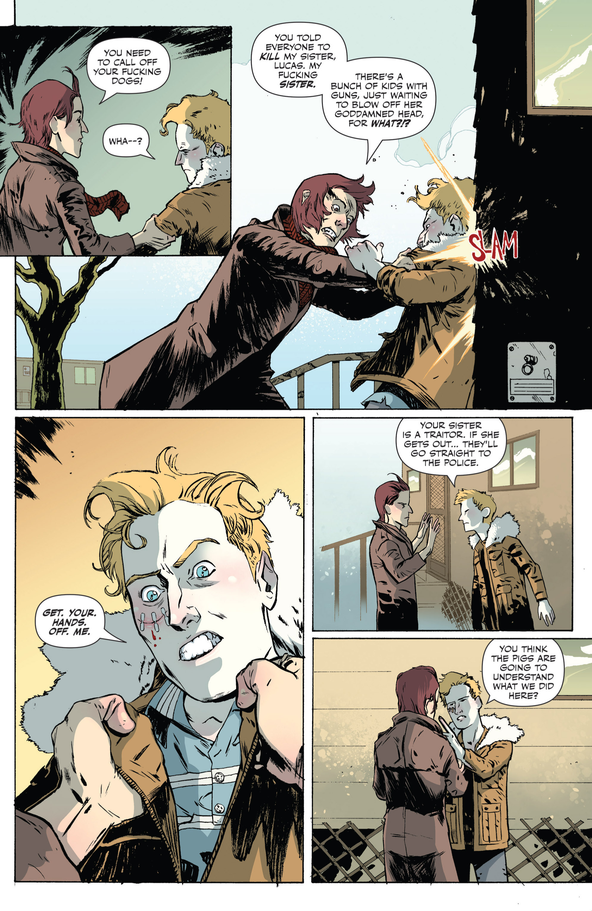 Read online Sheltered comic -  Issue #4 - 10