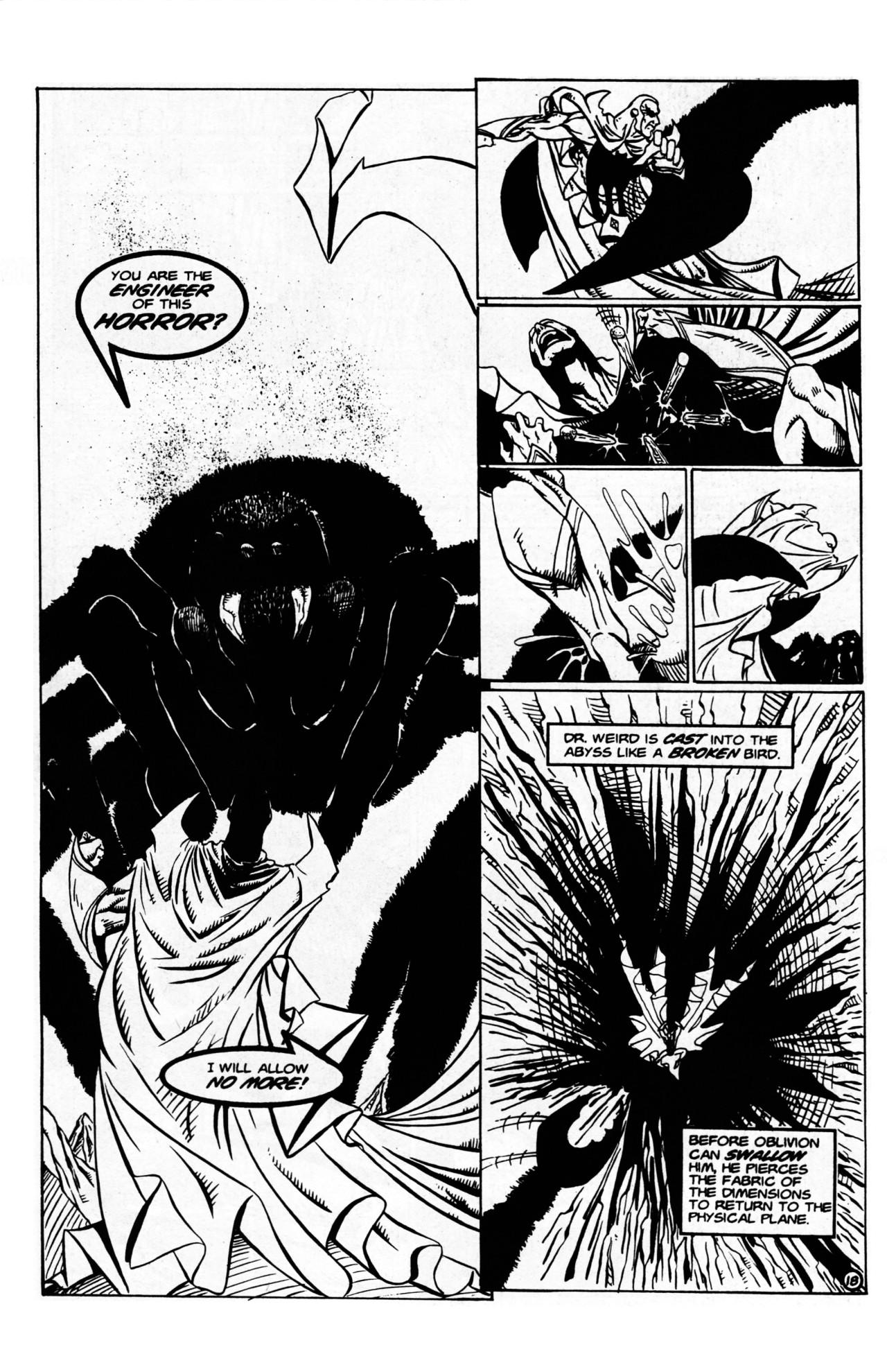 Read online Dr. Weird (1997) comic -  Issue #1 - 20