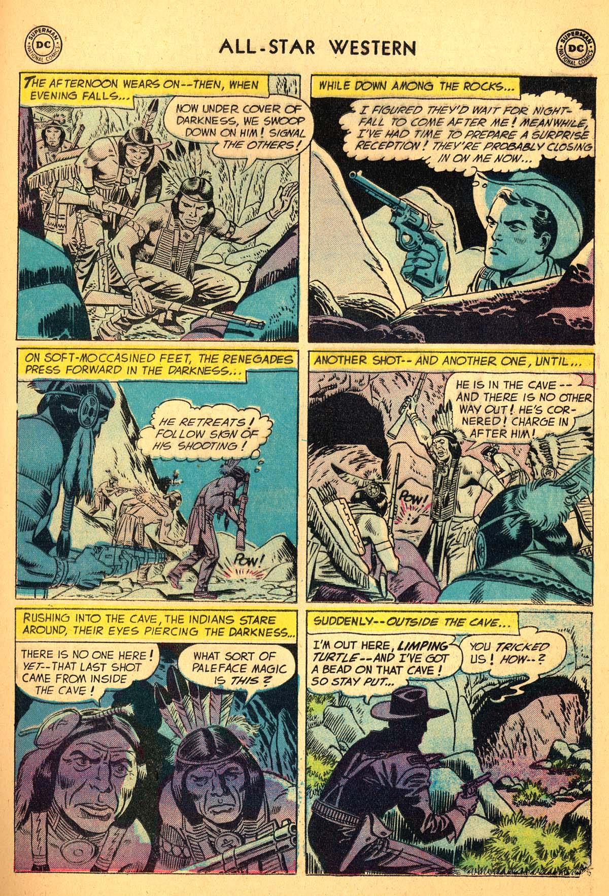 Read online All-Star Western (1951) comic -  Issue #99 - 25