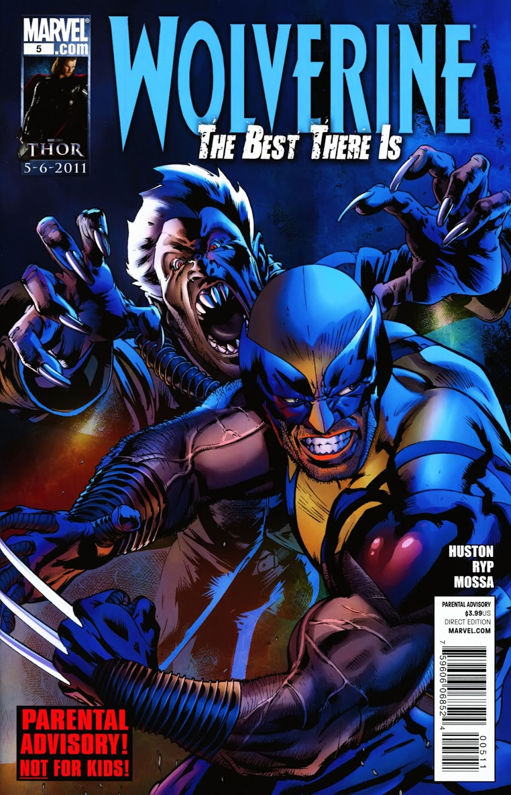 Wolverine: The Best There Is 5 Page 1