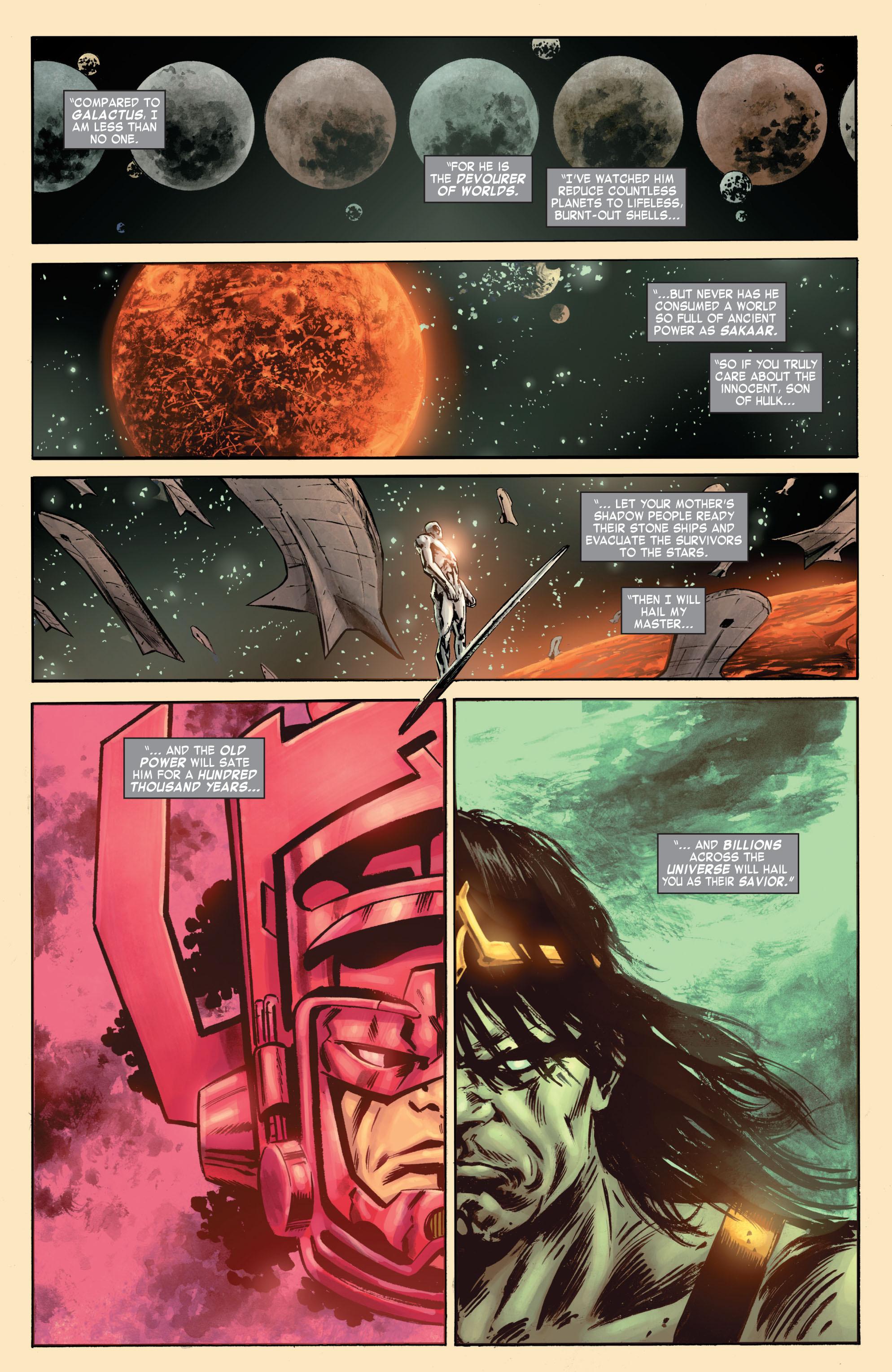 Read online Skaar: Son of Hulk comic -  Issue #7 - 17