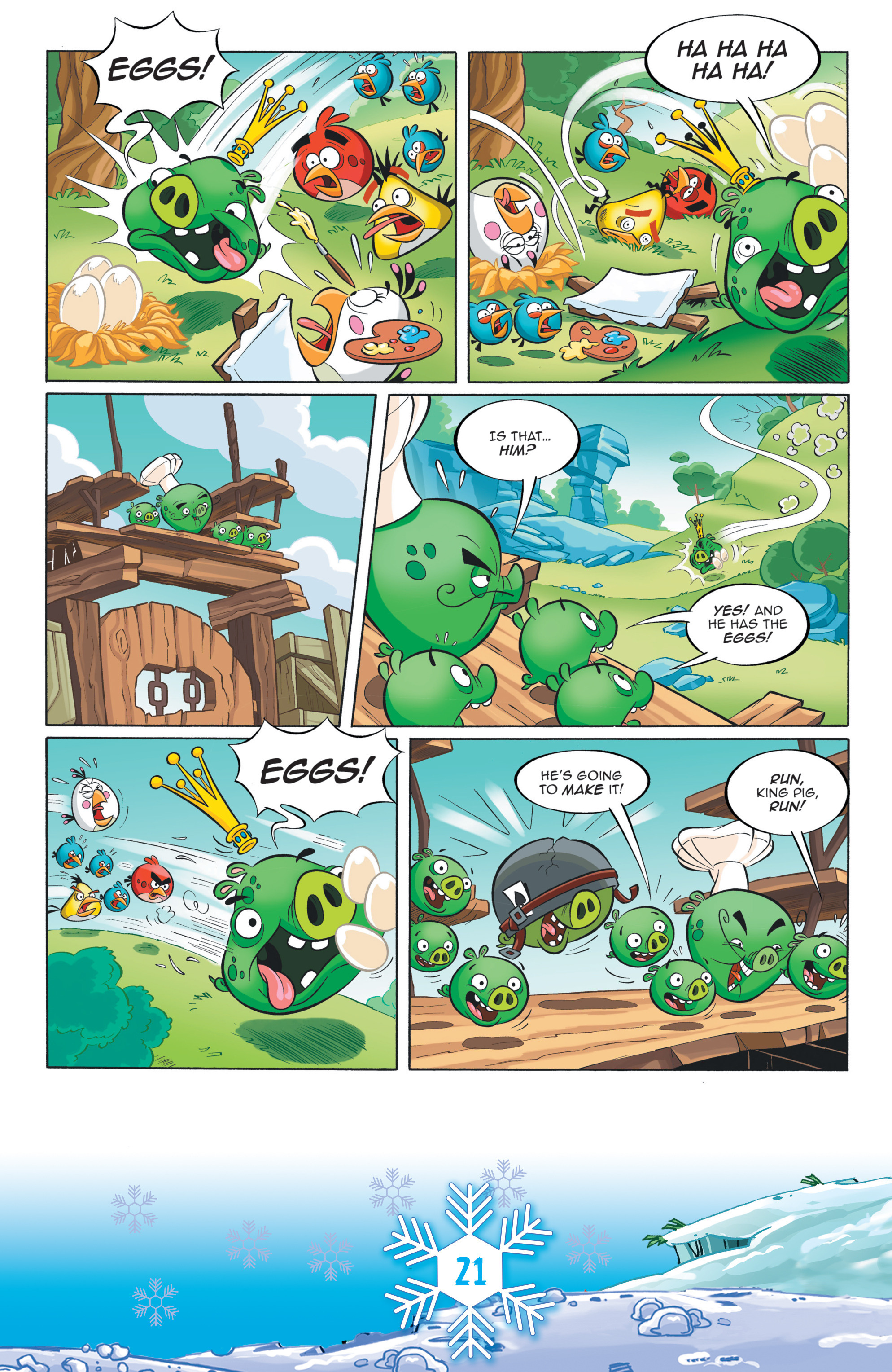 Read online Angry Birds Comics (2016) comic -  Issue #12 - 23