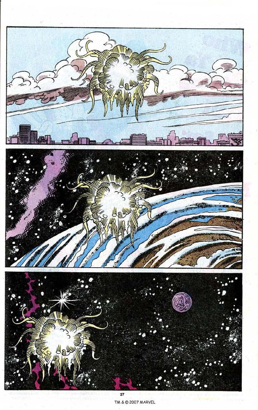 Read online Silver Surfer (1987) comic -  Issue # _Annual 3 - 29