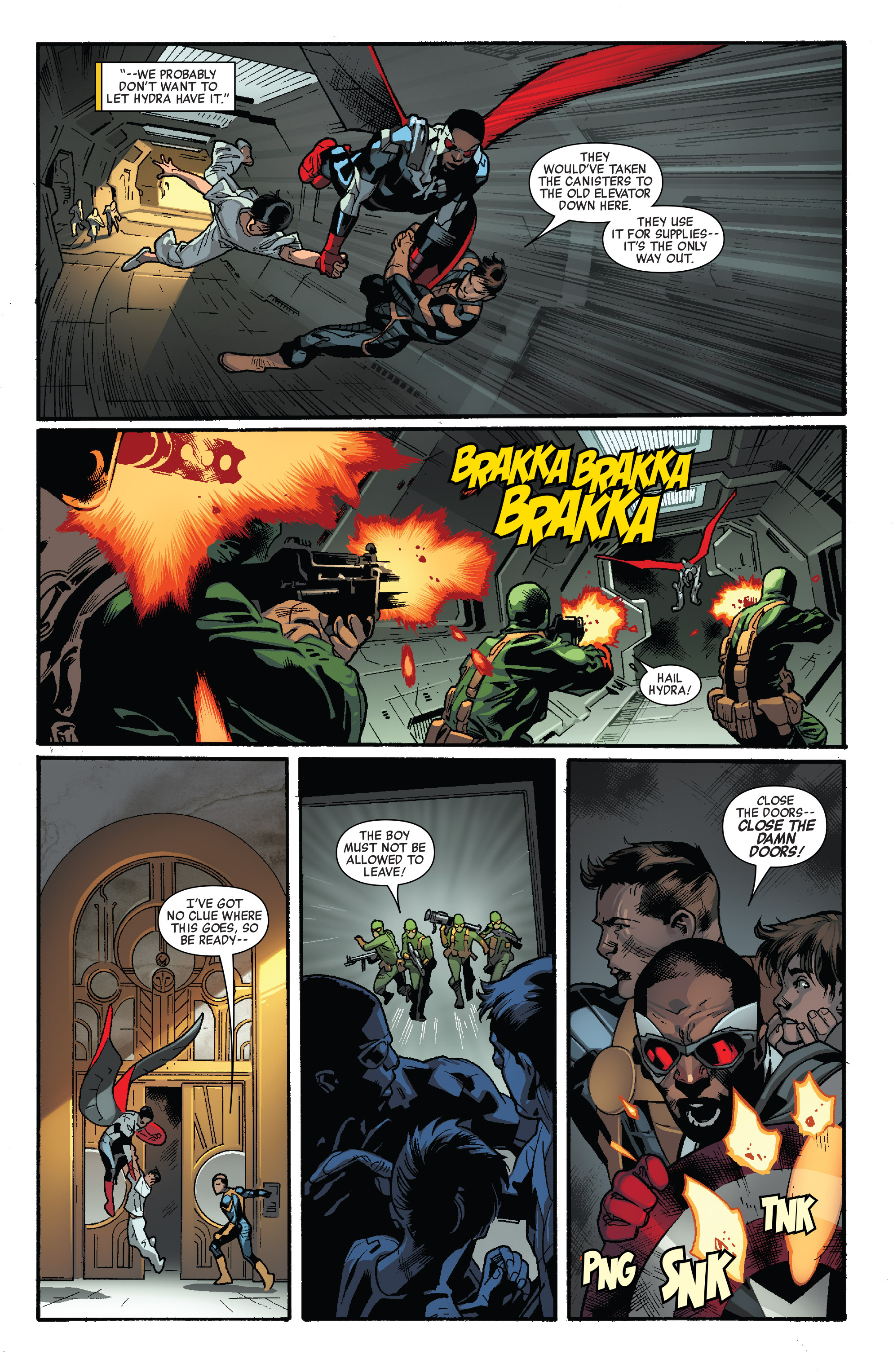 Read online All-New Captain America comic -  Issue #1 - 19