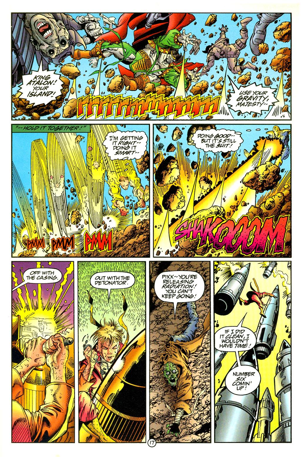 Read online UltraForce (1994) comic -  Issue #5 - 18