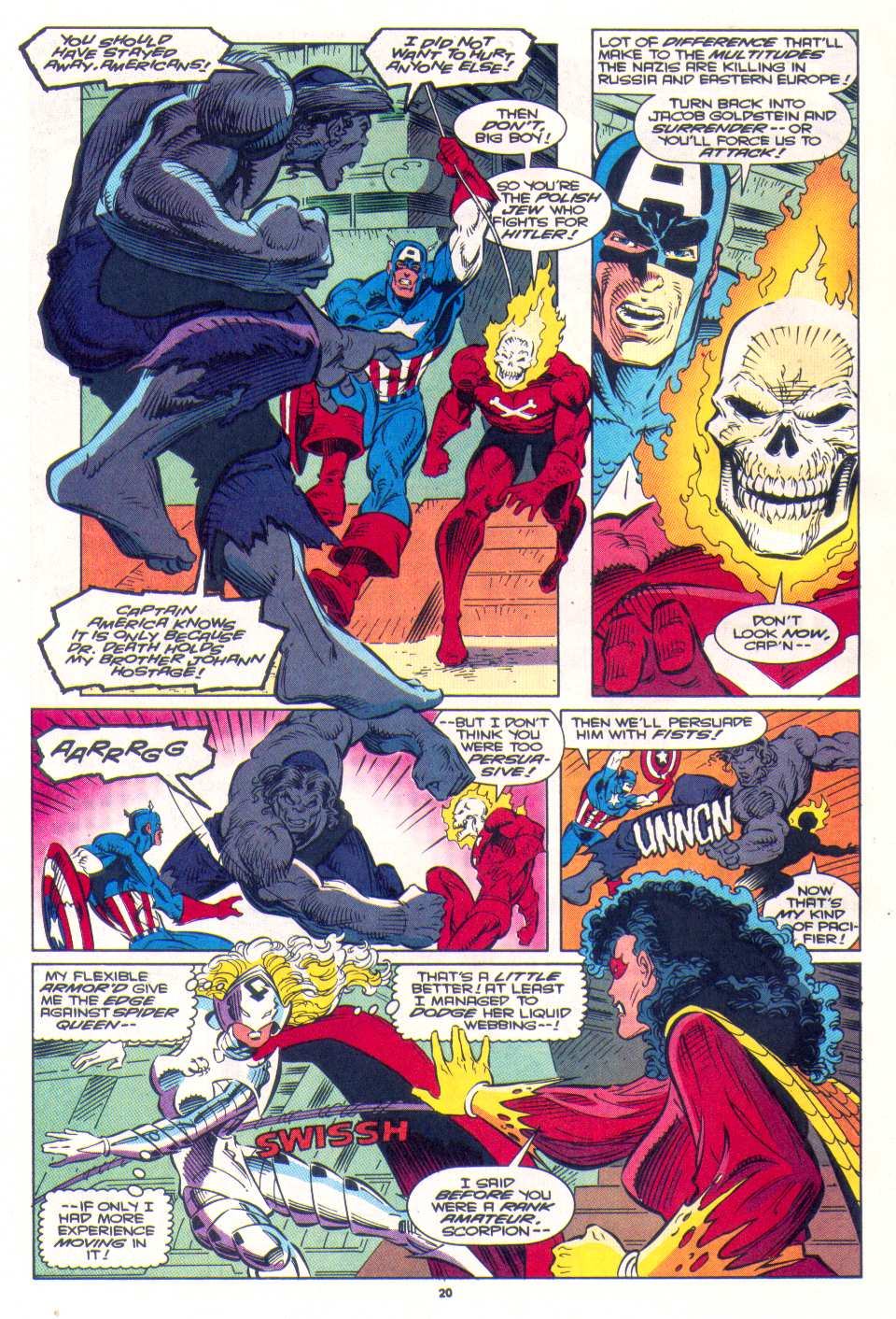 Read online The Invaders (1993) comic -  Issue #3 - 17
