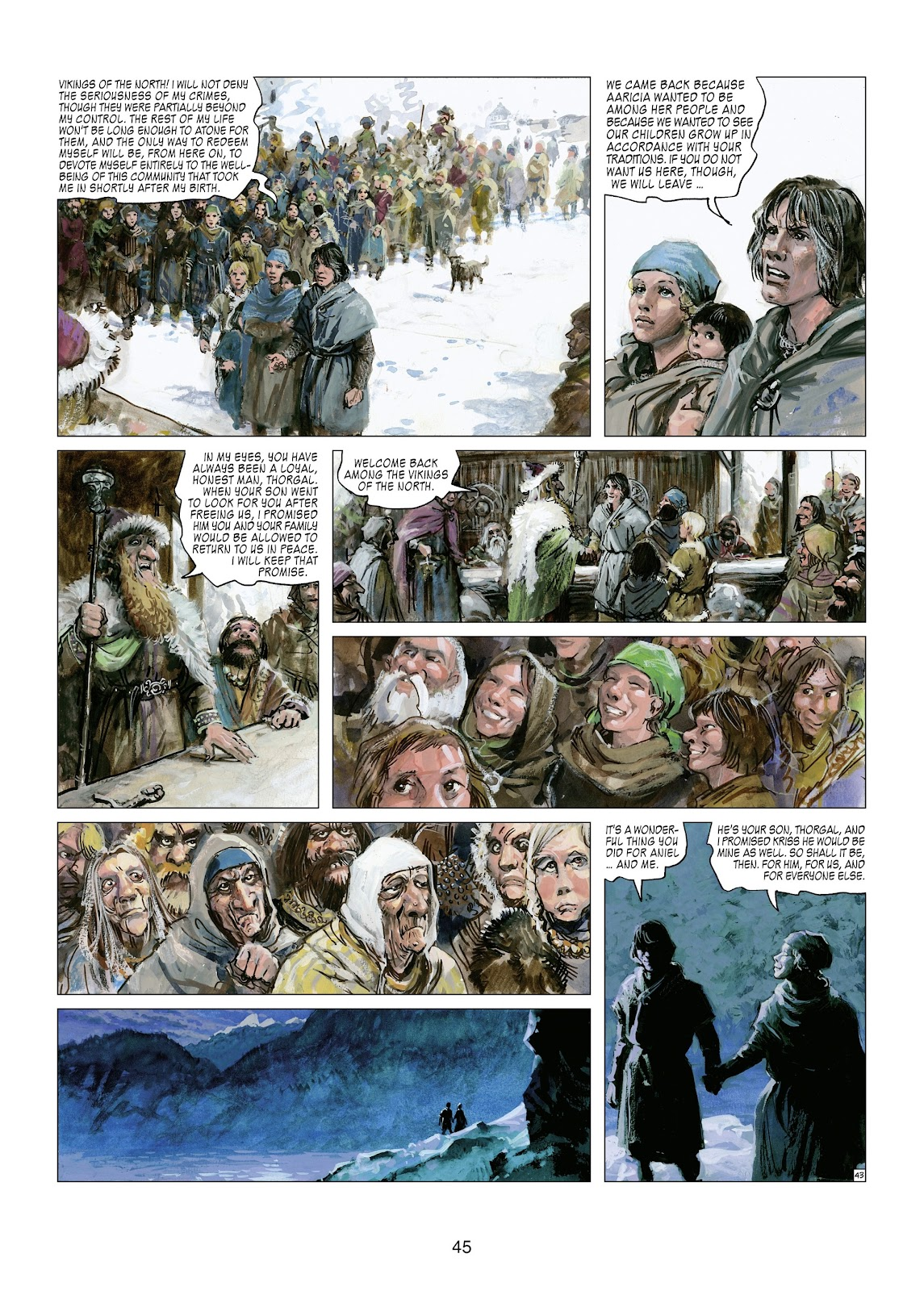 Read online Thorgal comic -  Issue #21 - 47