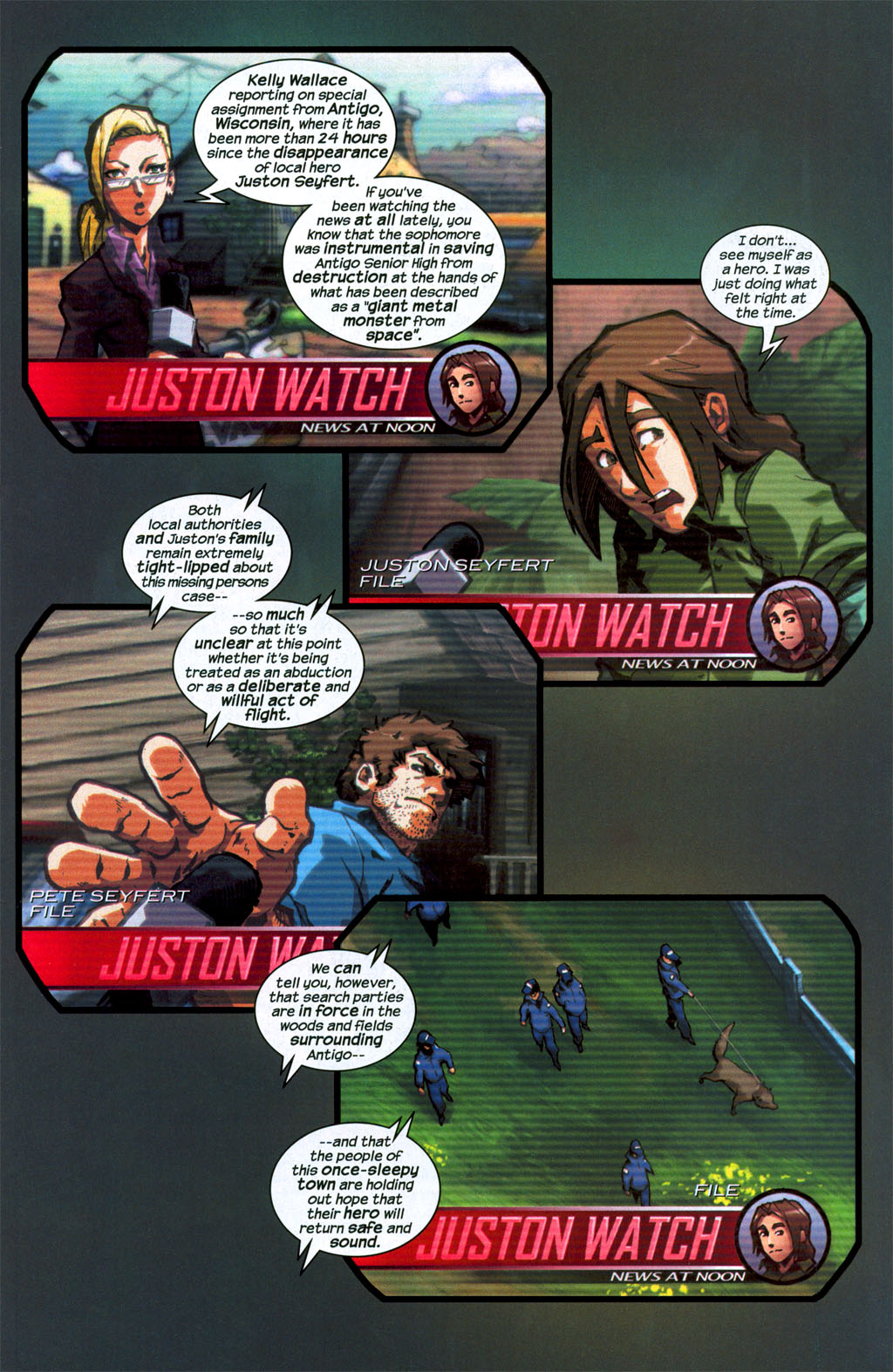 Read online Sentinel (2006) comic -  Issue #1 - 8