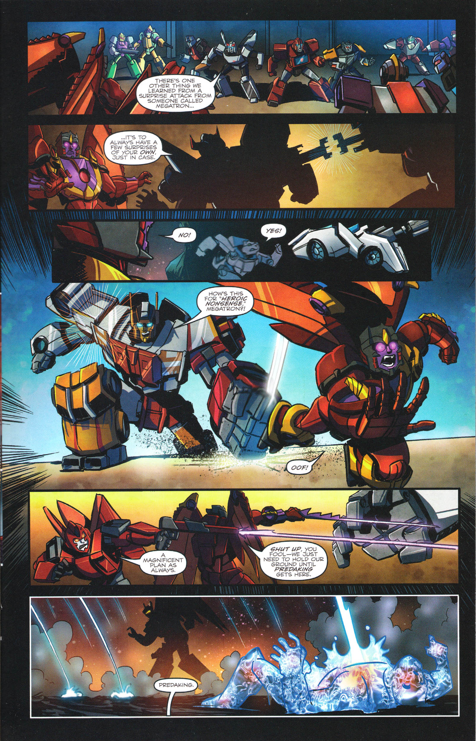 Read online Transformers: Dawn of the Predacus comic -  Issue # Full - 18