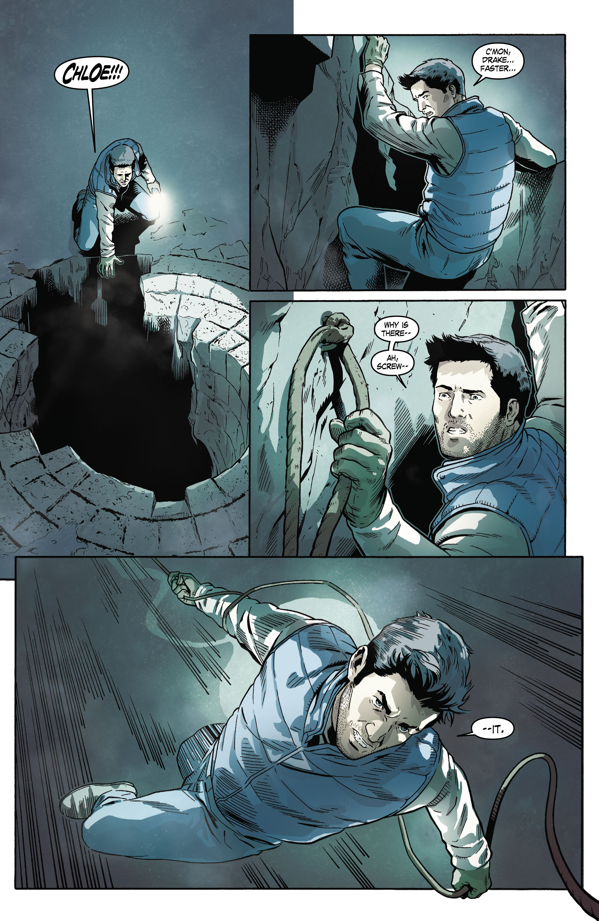 Read online Uncharted comic -  Issue #4 - 18