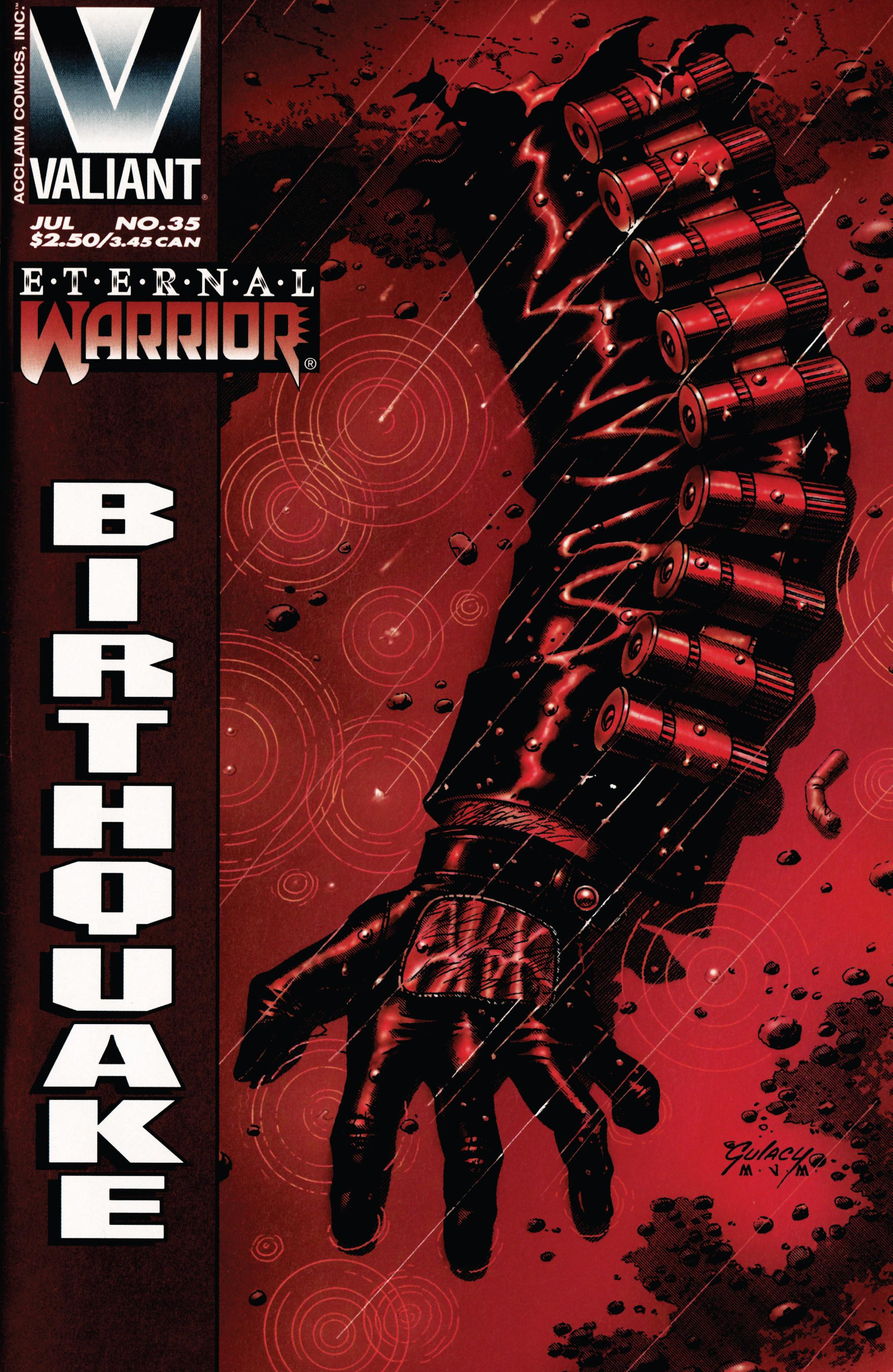 Read online Eternal Warrior (1992) comic -  Issue #35 - 1