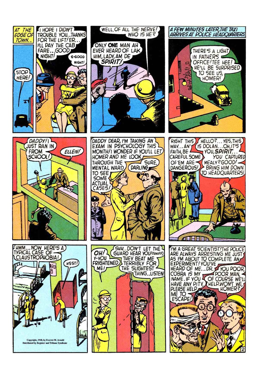 Read online Will Eisner's The Spirit Archives comic -  Issue # TPB 1 (Part 1) - 10