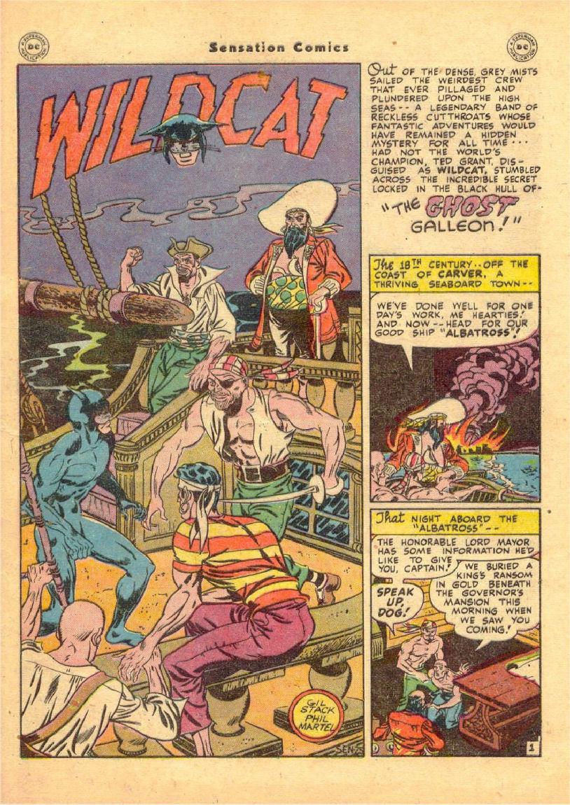 Read online Sensation (Mystery) Comics comic -  Issue #70 - 42