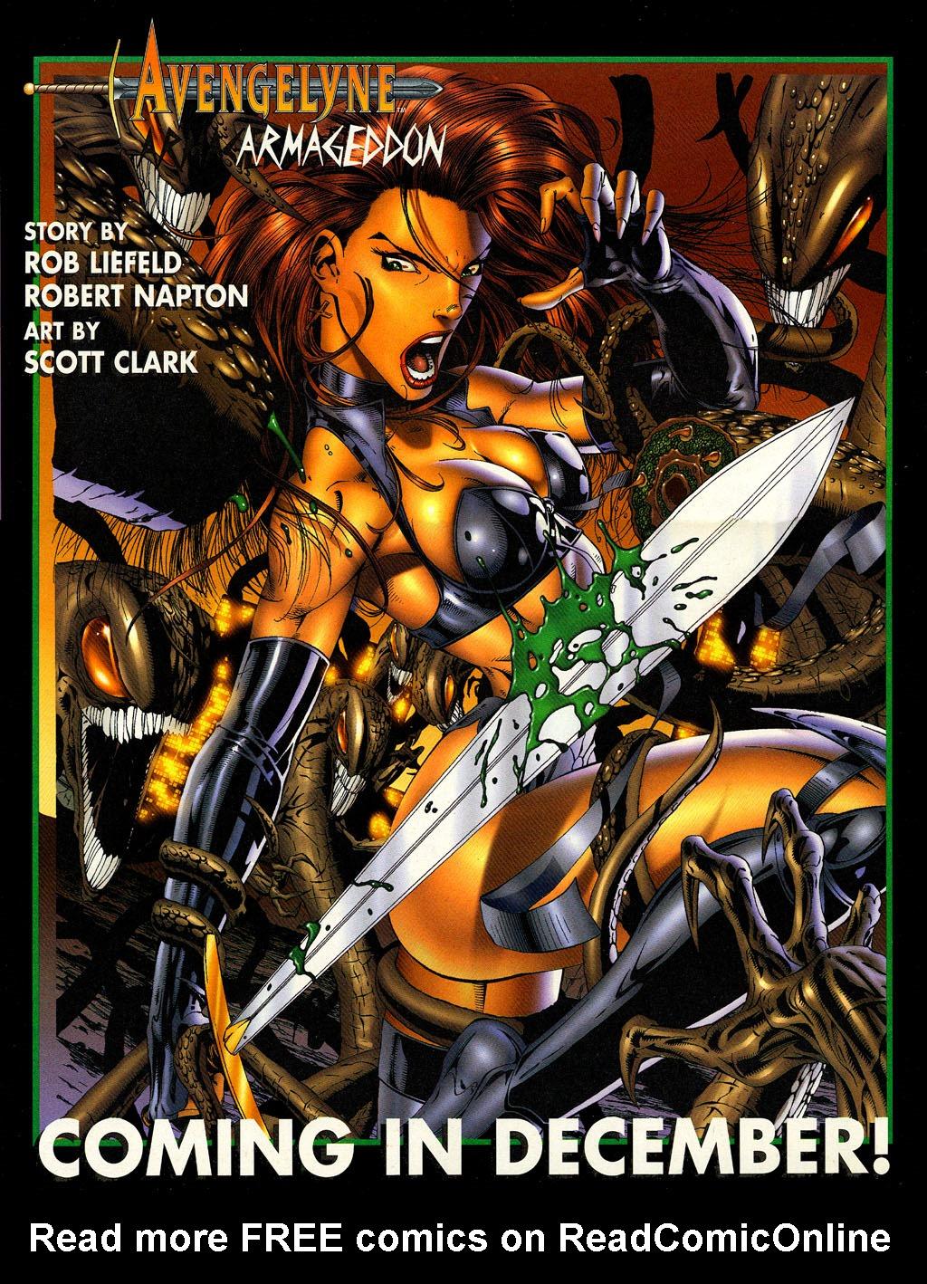 Read online Avengelyne (1996) comic -  Issue #6 - 16