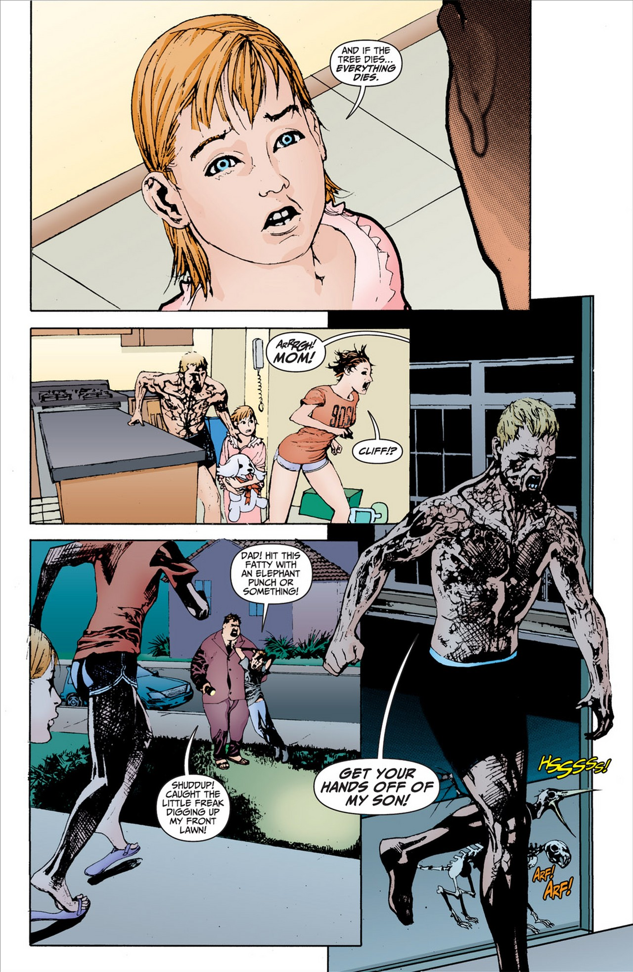 Read online Animal Man (2011) comic -  Issue #2 - 7