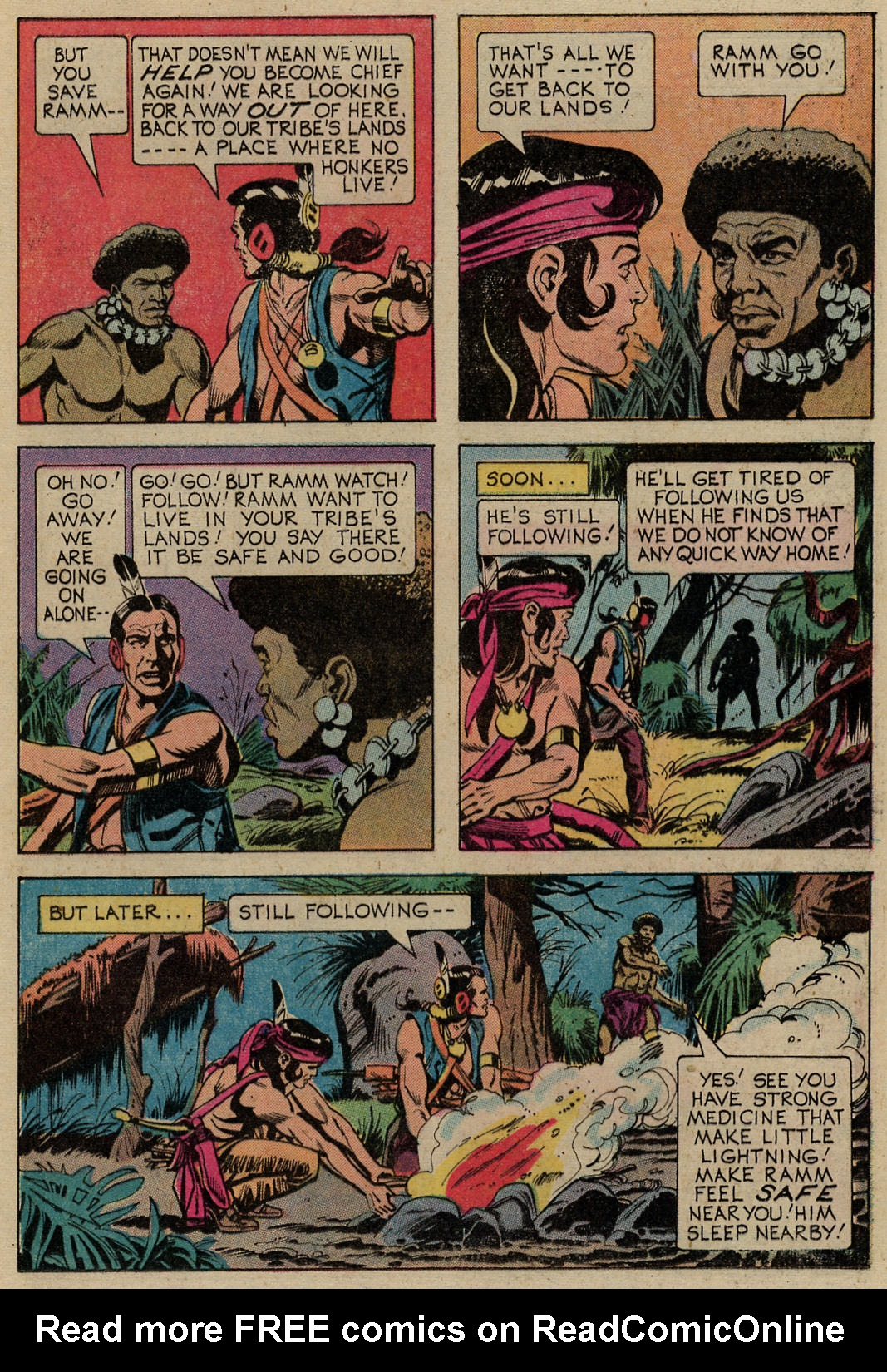 Read online Turok, Son of Stone comic -  Issue #98 - 19