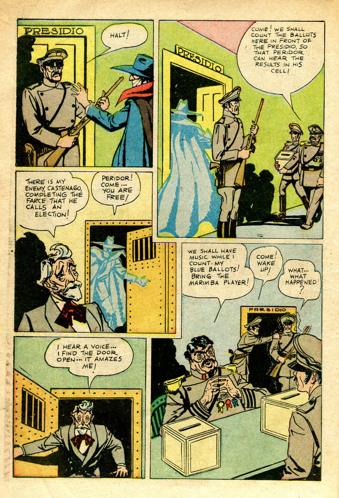 Read online Shadow Comics comic -  Issue #67 - 14