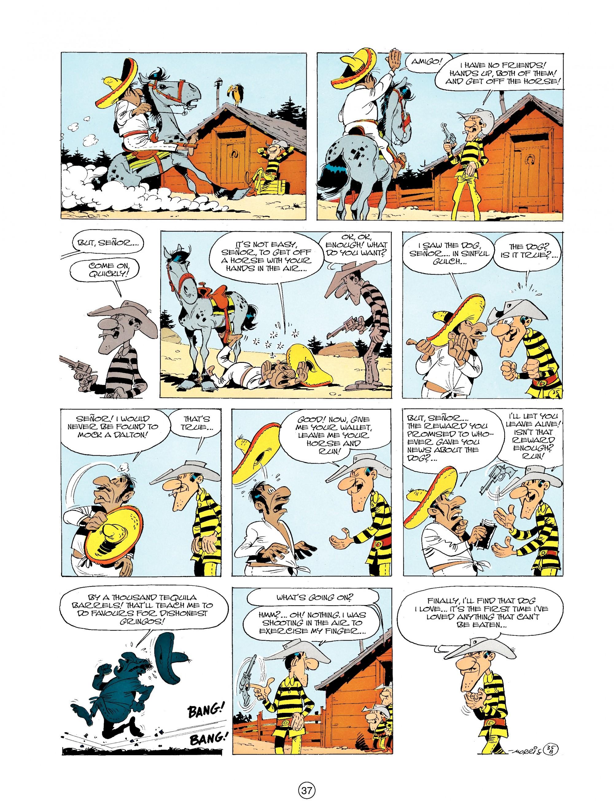 Read online A Lucky Luke Adventure comic -  Issue #19 - 37
