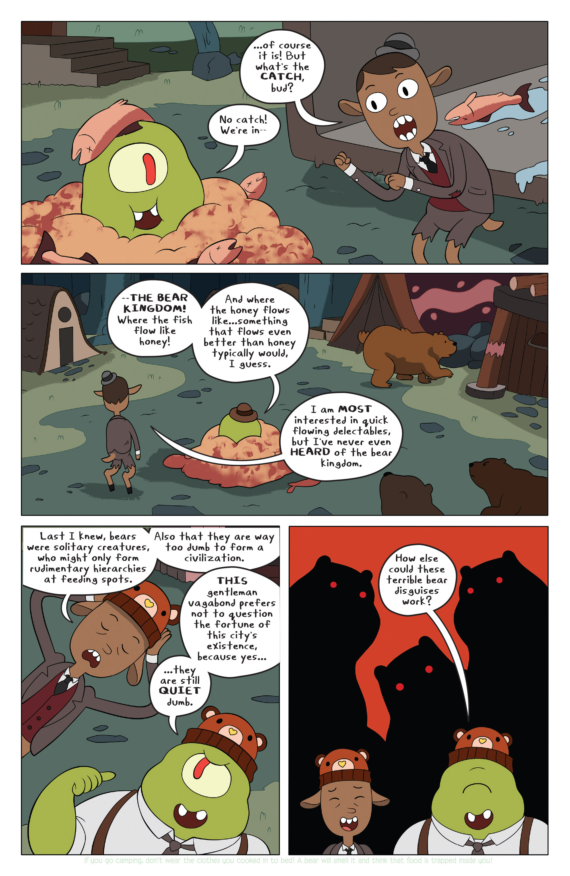 Read online Adventure Time comic -  Issue #42 - 5