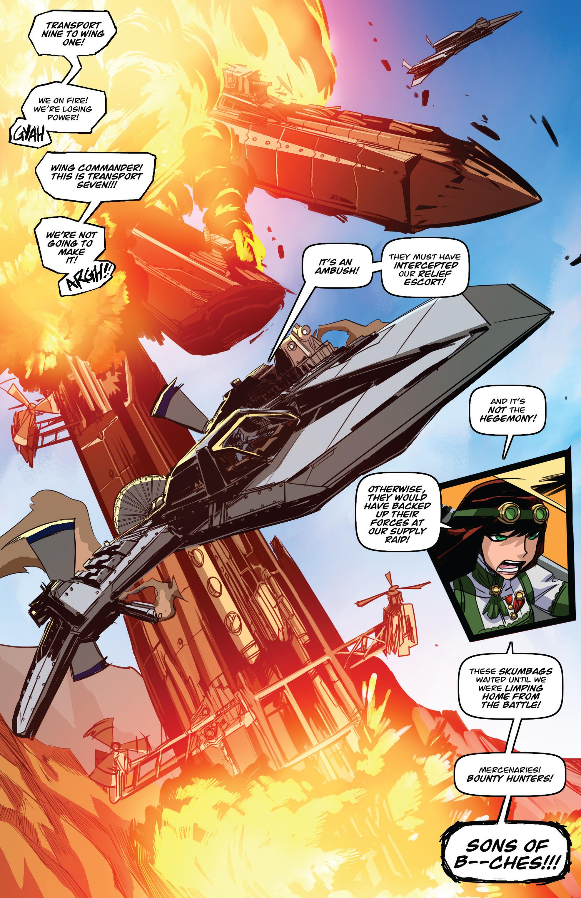 Read online Steam Wars: First Empire comic -  Issue #3 - 23