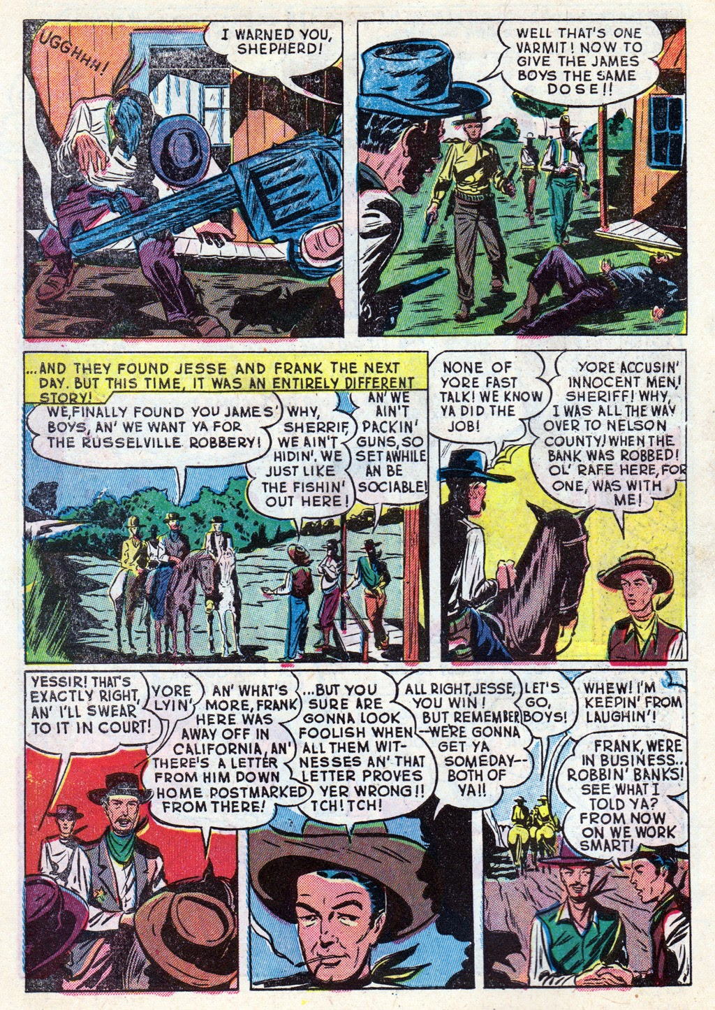 Cowboy Western Comics (1948) issue 18 - Page 6